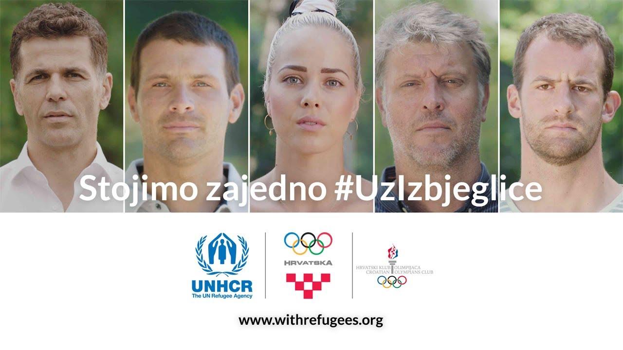 VIDEO: UNHCR i hrvatski olimpijci pozivaju na solidarnost povodom Svjetskog dana izbjeglica