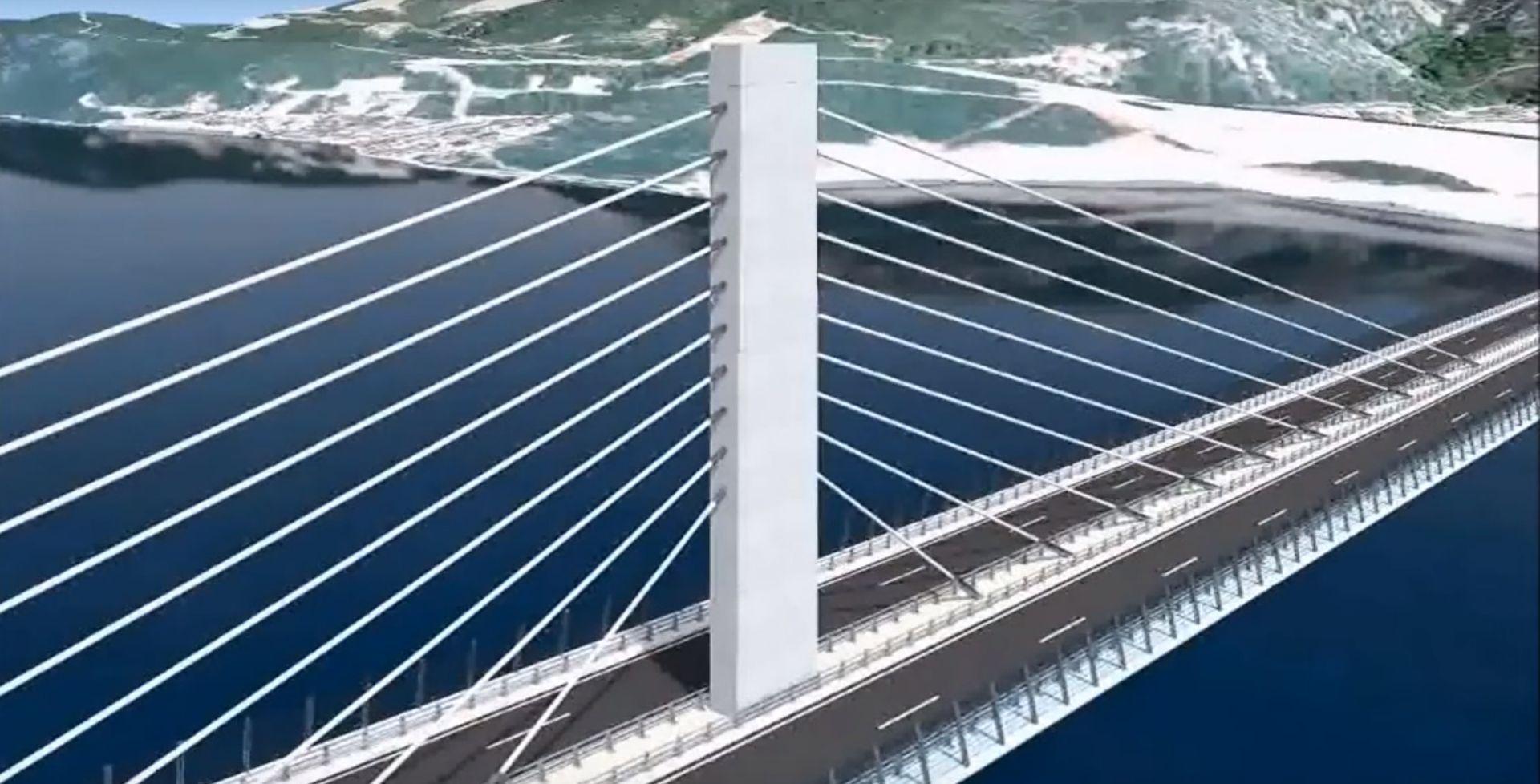 Europska komisija dodijelila 375 milijuna eura za projekt izgradnje Pelješkog mosta