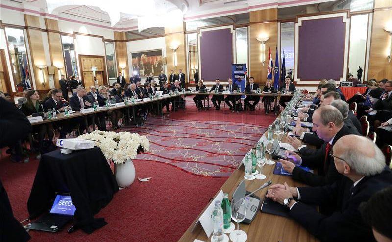 Summitom u Dubrovniku završava hrvatsko predsjedanje SEECP-om