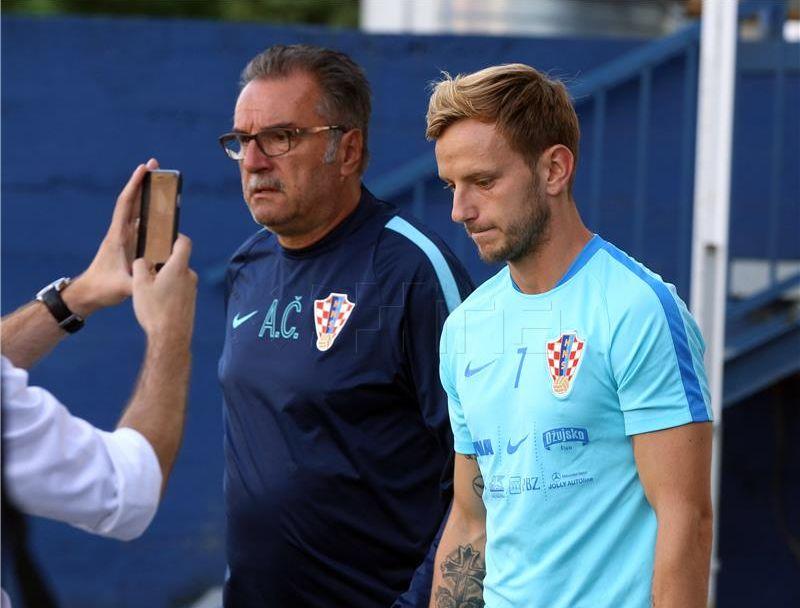 Hrvatska bez Ivana Rakitića na Islandu