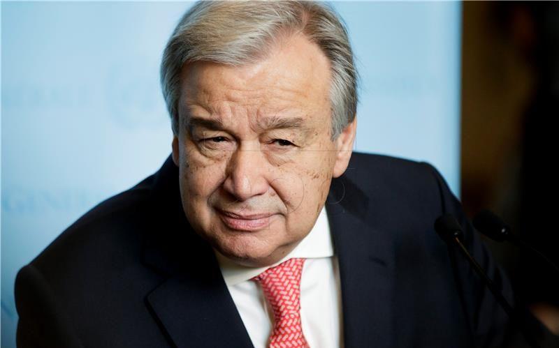 GUETERRES 'Pregovori o ujedinjenju Cipra nastavljaju se krajem lipnja'