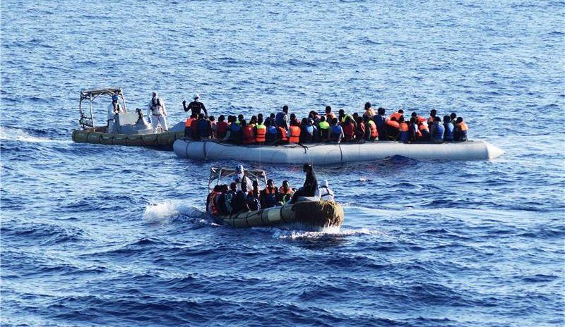 Više od 200 migranata spašeno ispred libijske obale, dvoje mrtvih