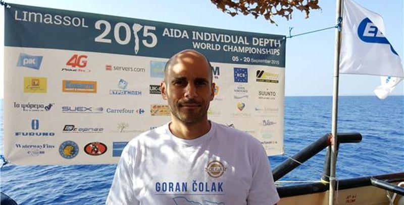 RONJENJE NA DAH Čolak postavio svjetski rekord i osvojio dva zlata