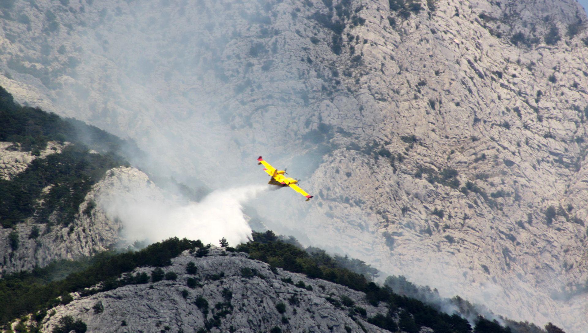 Požar u Dubrovačkom primorju pod kontrolom