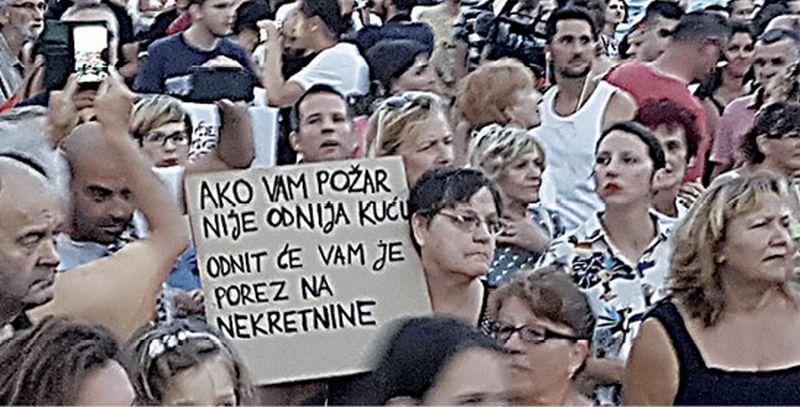 Split gori: 'Splitom se ne upravlja u skladu s potrebama građana'