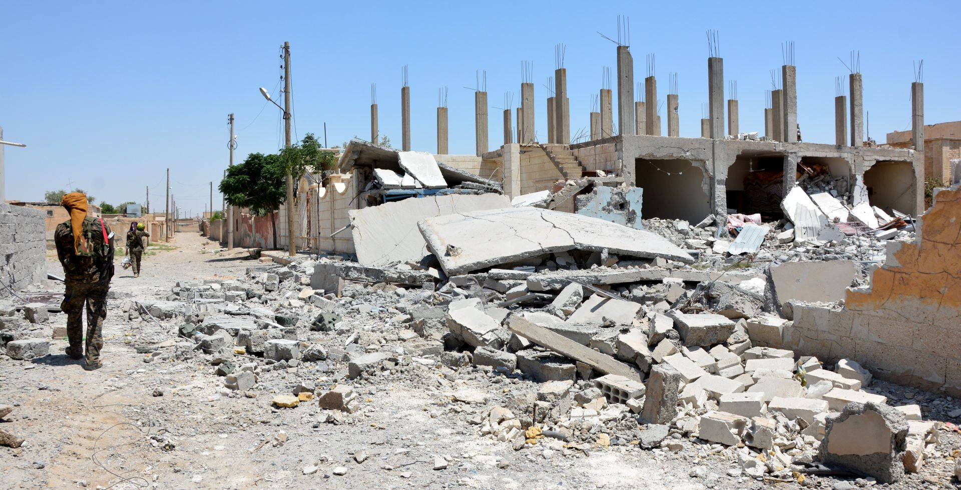 SIRIJA Koalicijske snage ušle u Stari grad u Raki