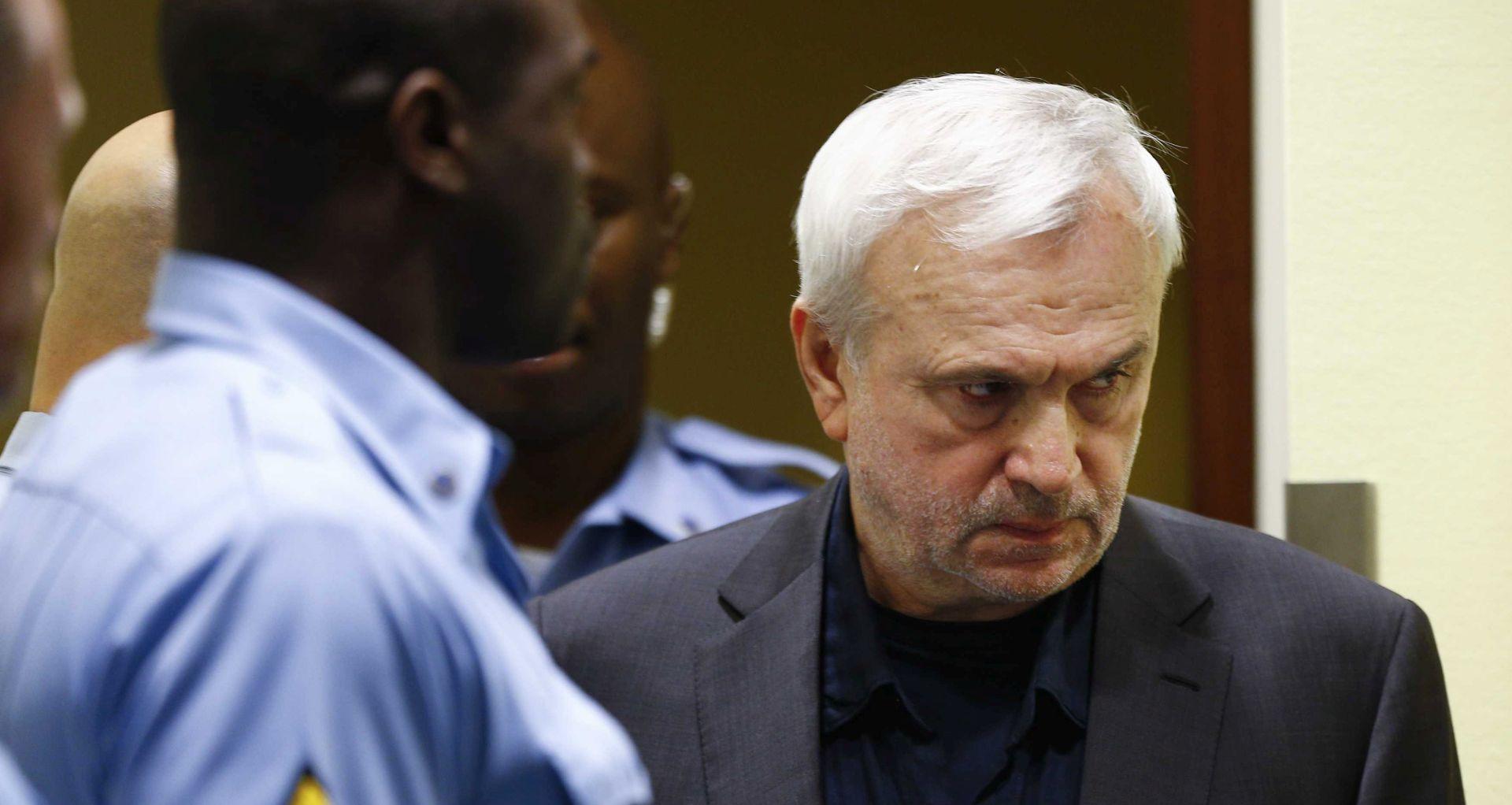 Stanišić obavjestio Haški sud da zbog bolesti neće biti u sudnici