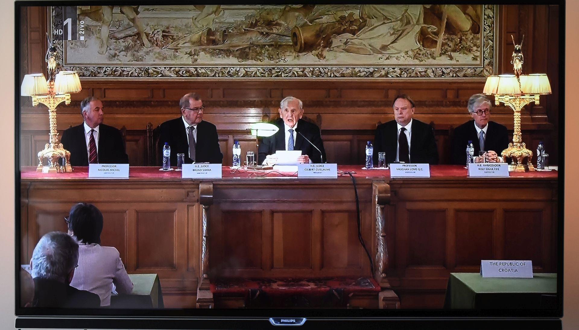 Hrvatska ponovila da neće primijeniti odluku arbitražnog suda