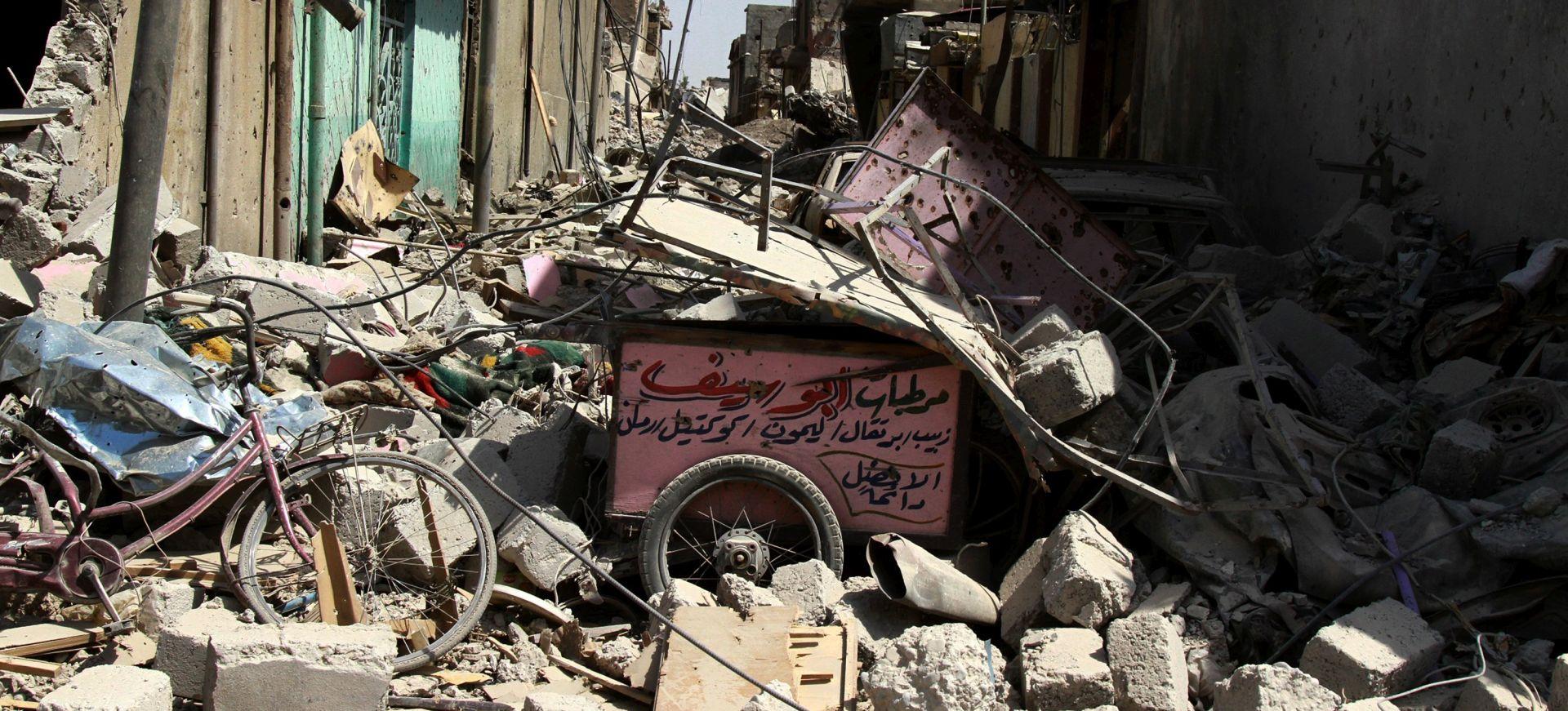 IRAK SE SPREMA NA VELIKO SLAVLJE Islamska država u Mosulu stjerana u kut