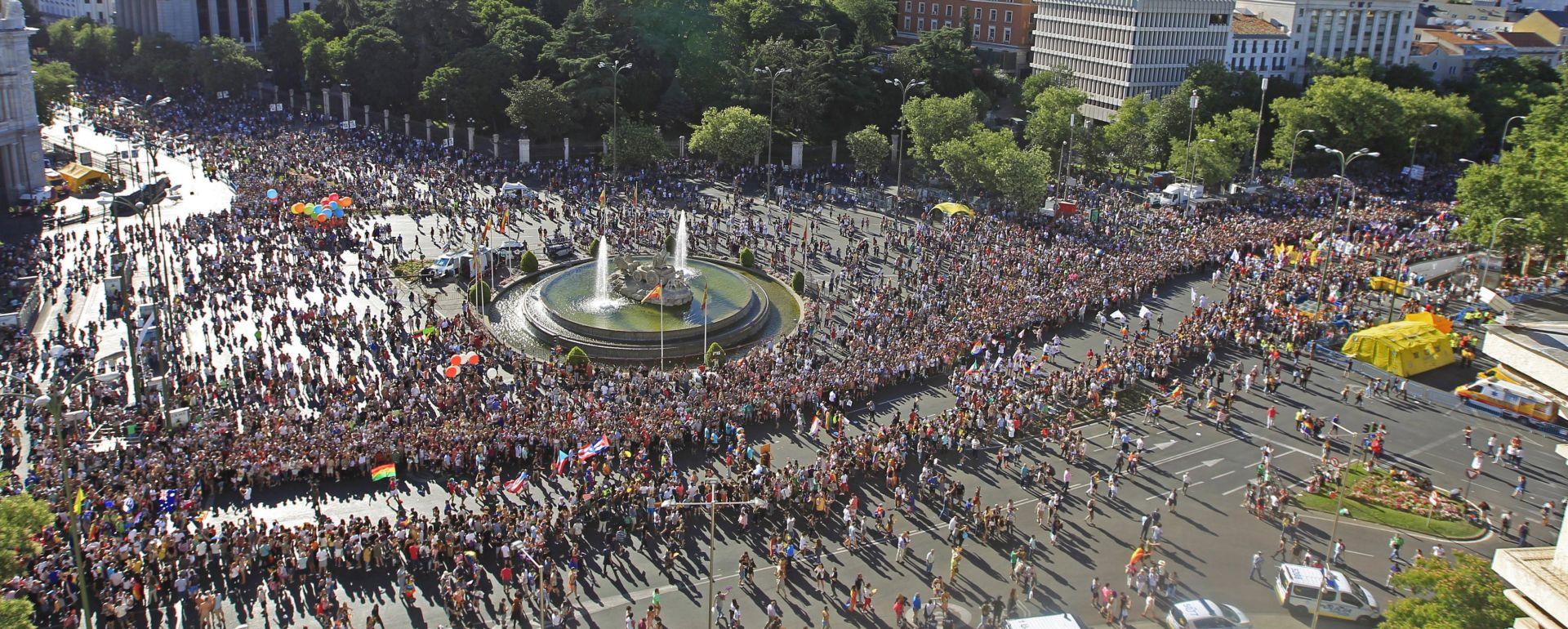 U Madridu na Svjetskoj paradi ponosa nekoliko stotina tisuća ljudi