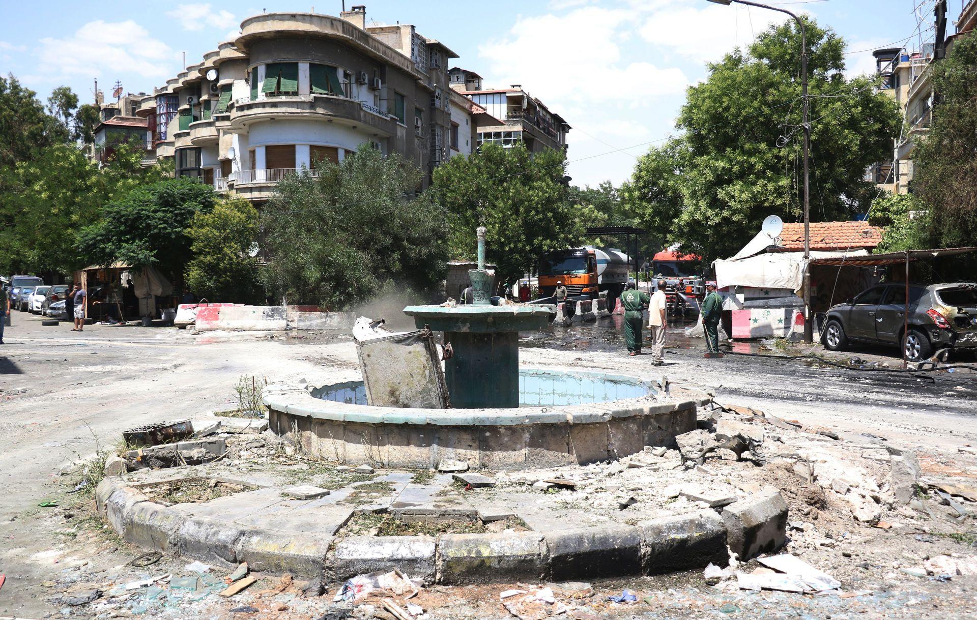 Najmanje 18 mrtvih u samoubilačkom napadu u Damasku