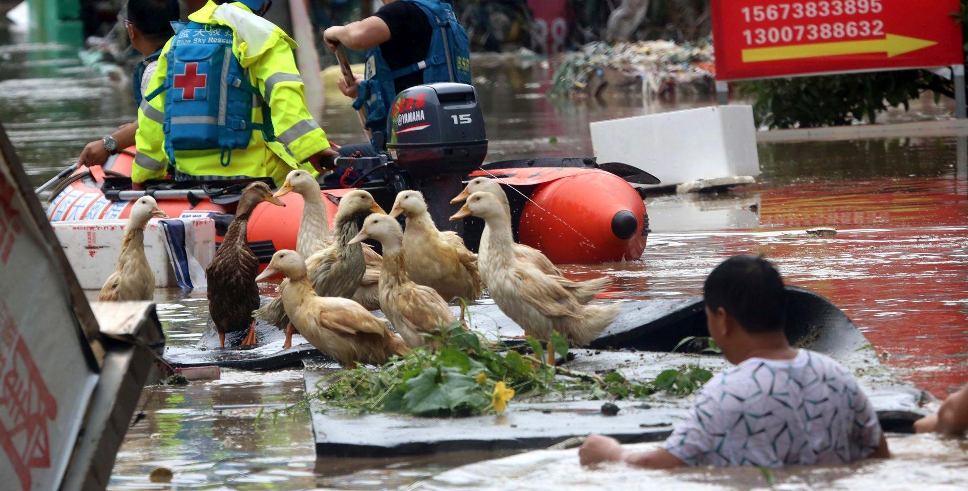 KINA Najmanje 56 mrtvihu poplavama