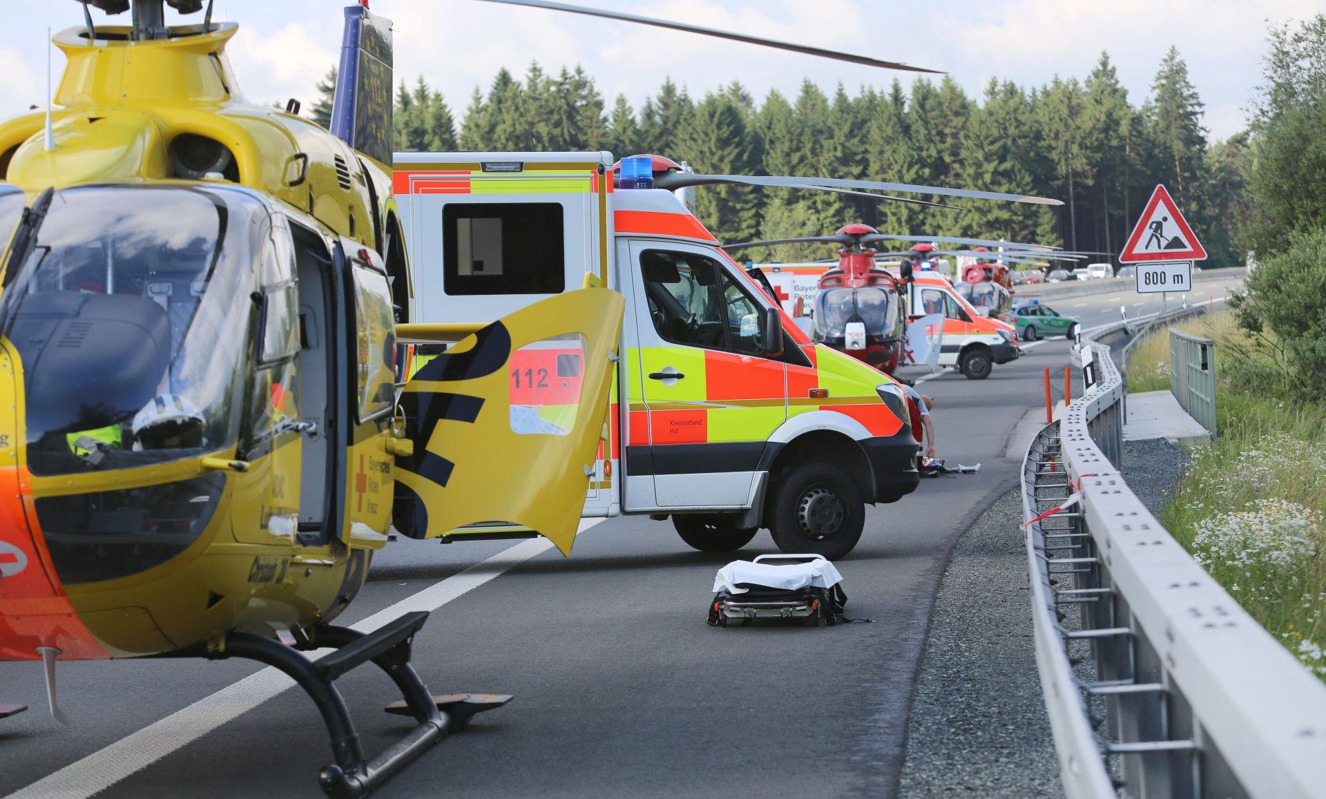 Njemačka policija strahuje od velikog broja mrtvih u nesreći u Bavarskoj