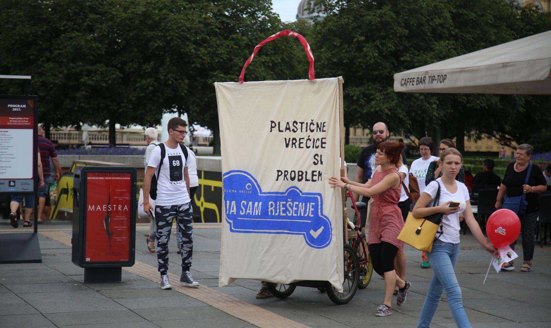 Performans ZA za smanjenje otpadnih plastičnih vrećica