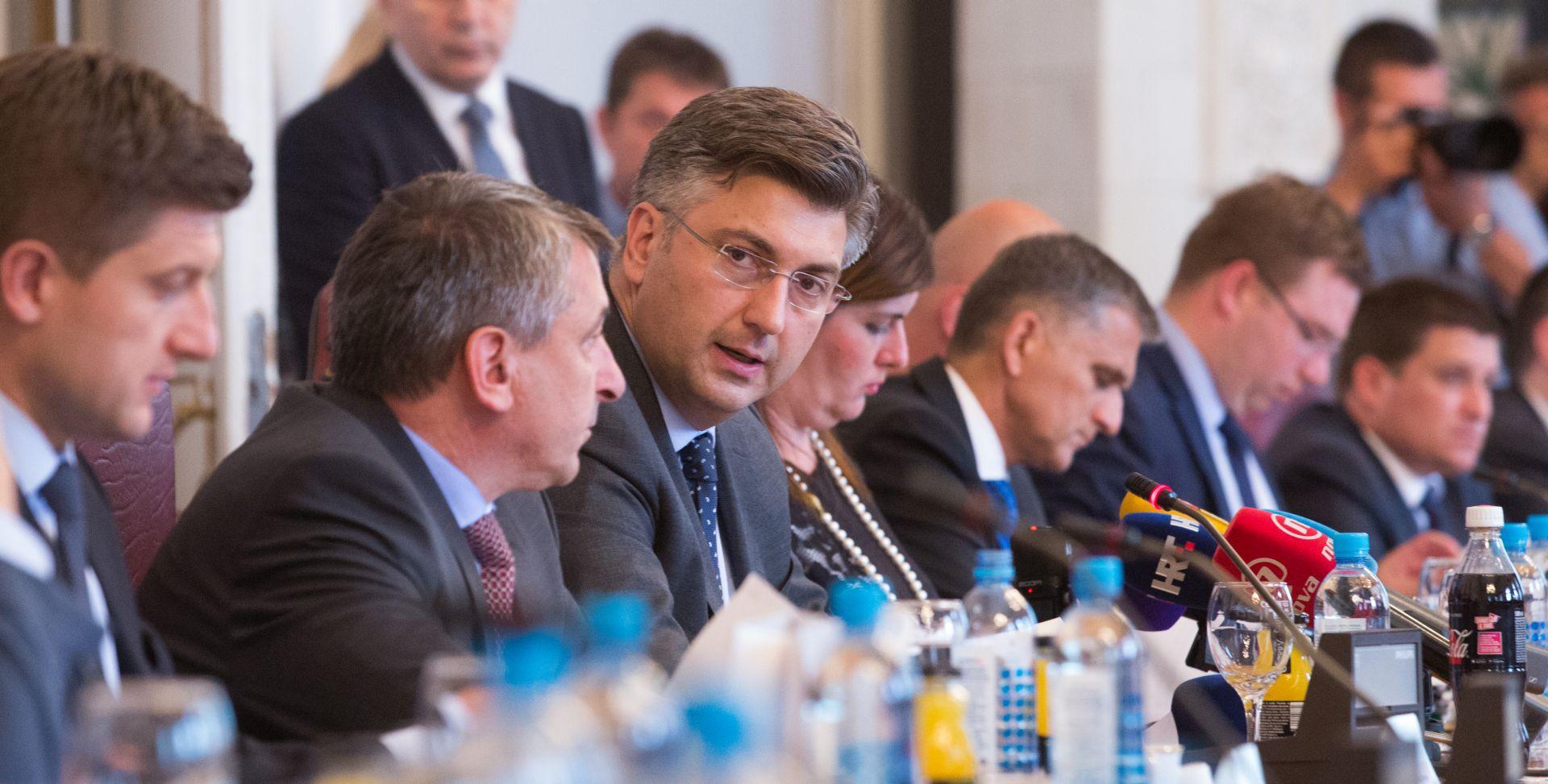 """MARIĆ U LONDONU Plenković: """"S investitorima se razgovara o refinanciranju 1,3 mlrd eura cestarskih dugova"""""""