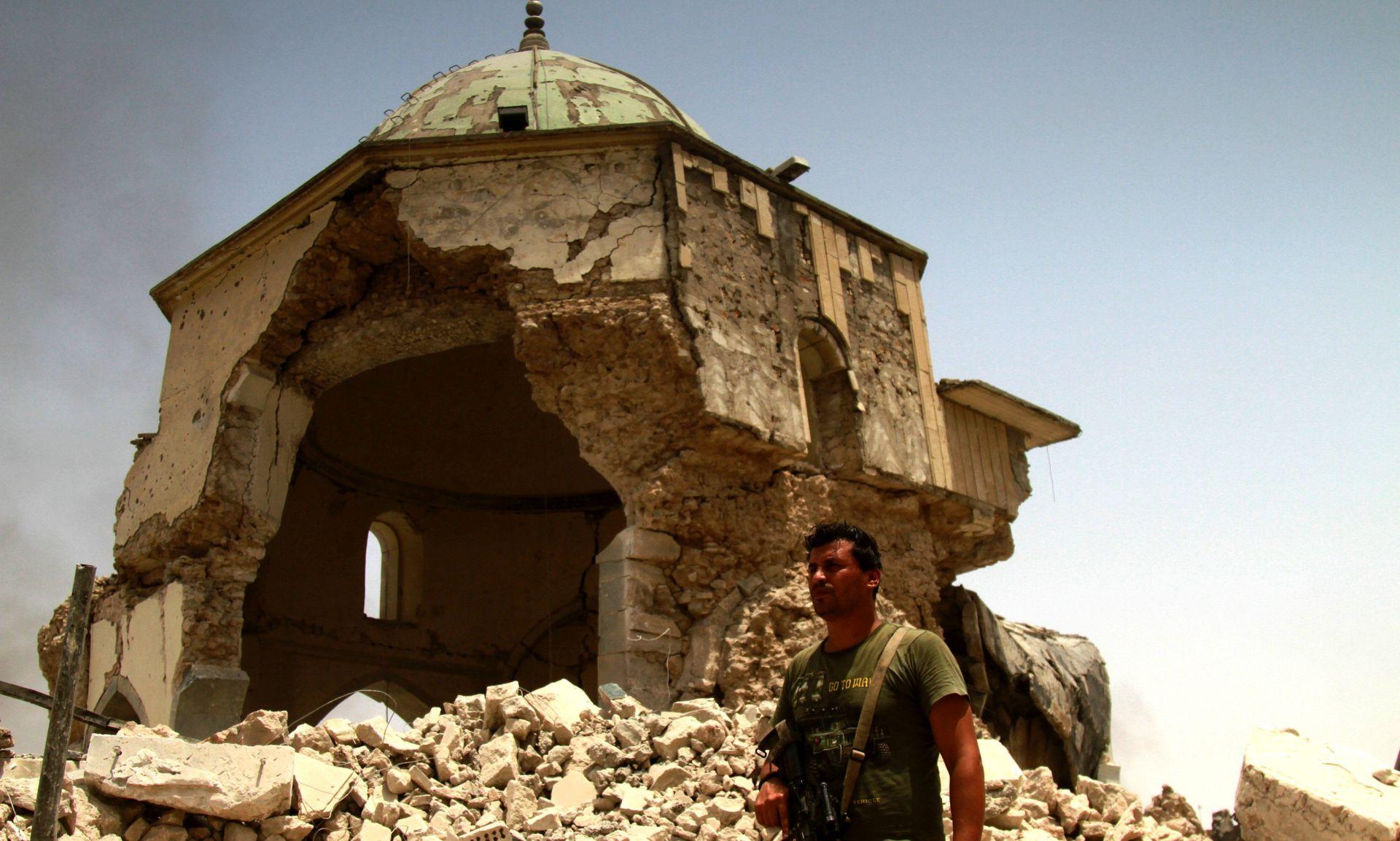 Mosul temeljito razrušen – UN
