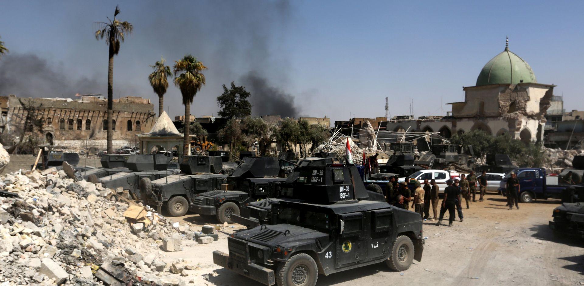 Iračke snage zauzele Stari grad u Mosulu