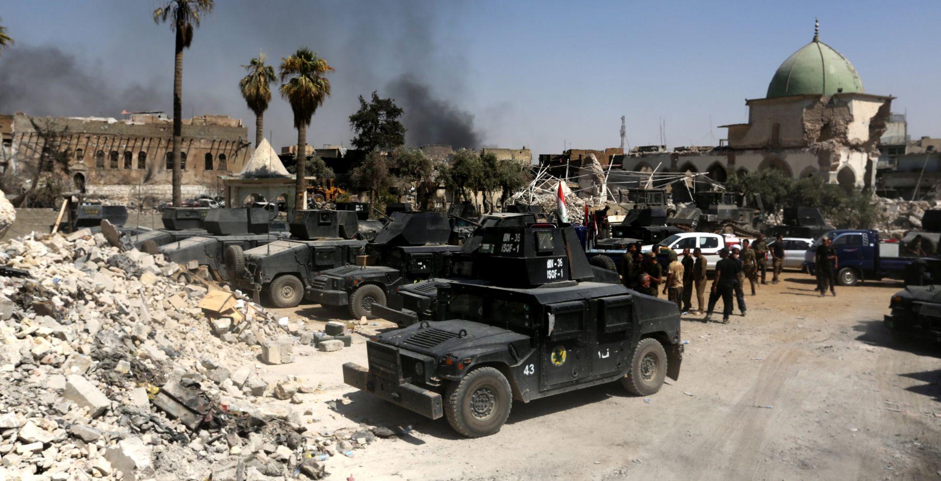 Irački premijer proglasio pobjedu u oslobođenom Mosulu