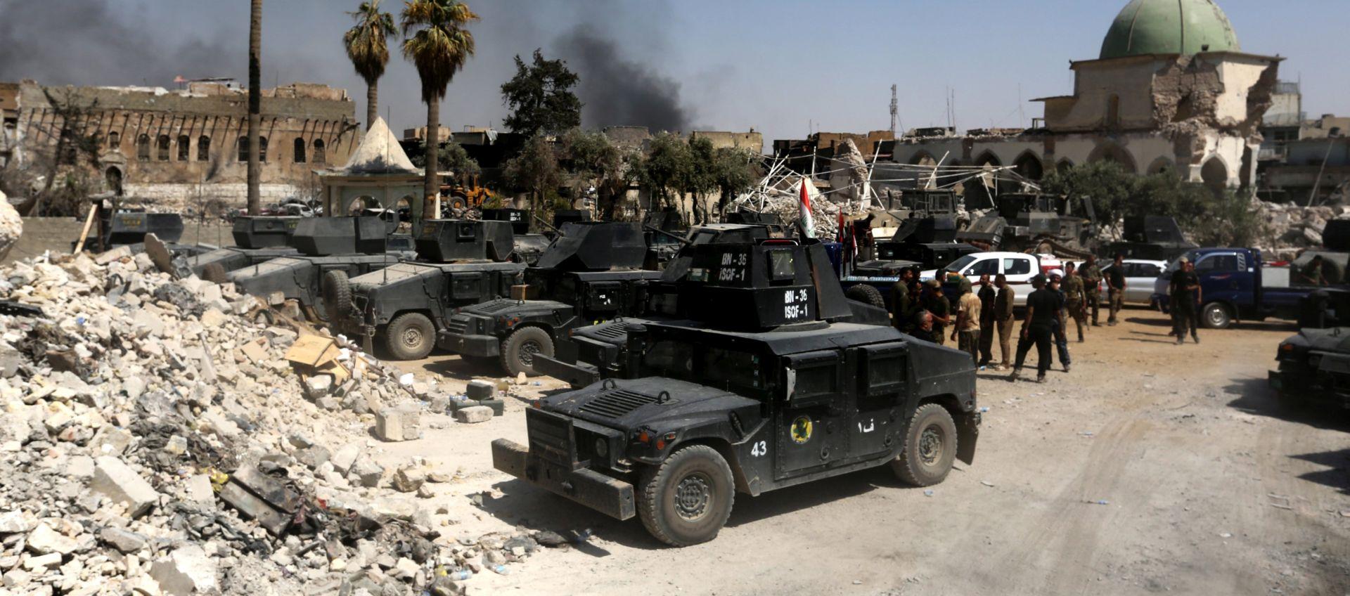 IRAČKA TV Pobjeda nad IS-om u Mosulu bit će objavljena idućih sati