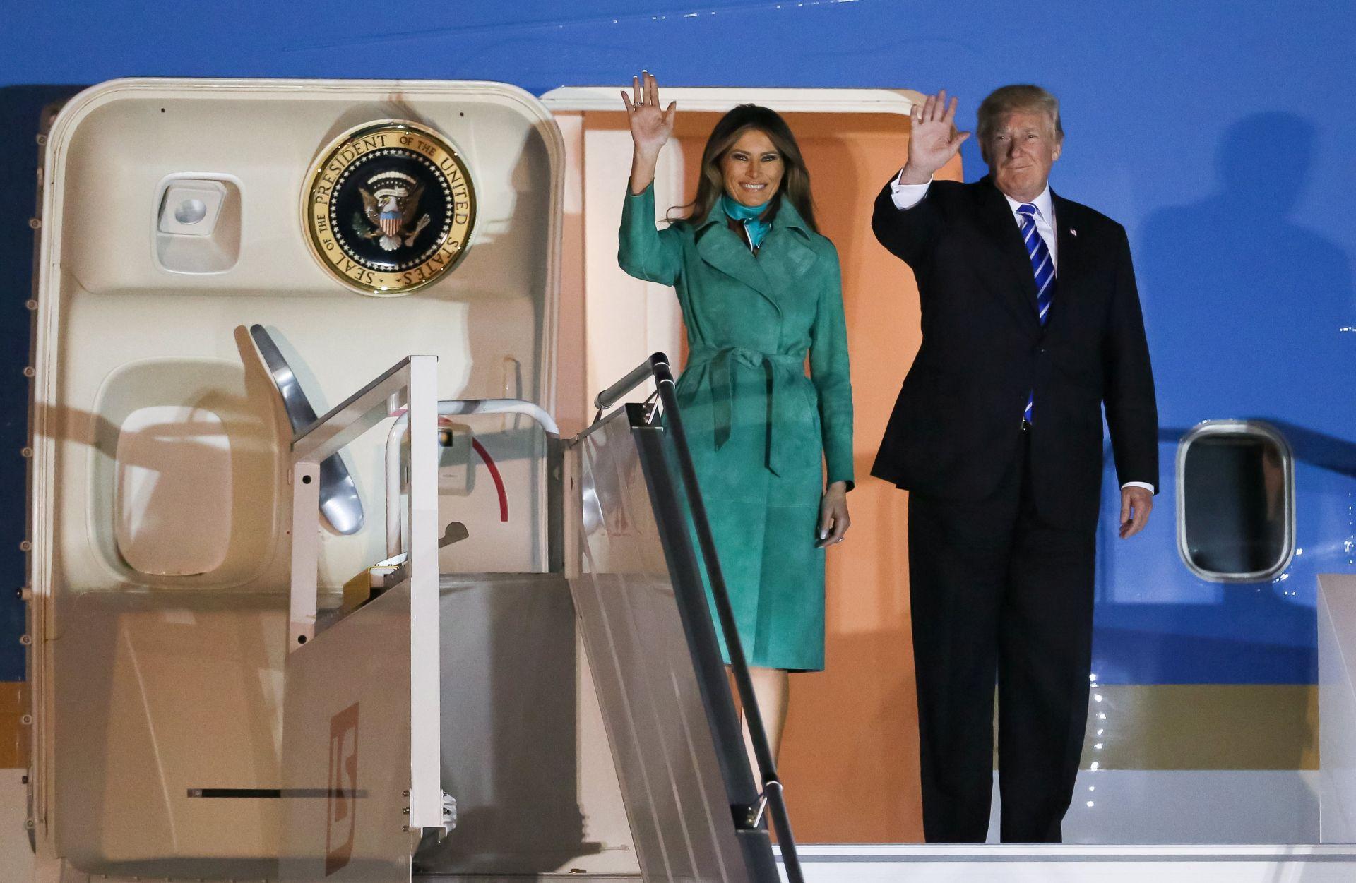 Trump će posjetiti Sloveniju, domovinu supruge Melanije