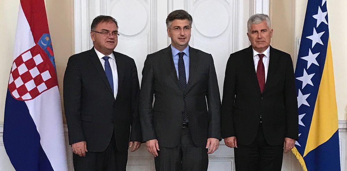 SARAJEVO Počela zajednička sjednica vlade Hrvatske i Vijeća ministara BiH