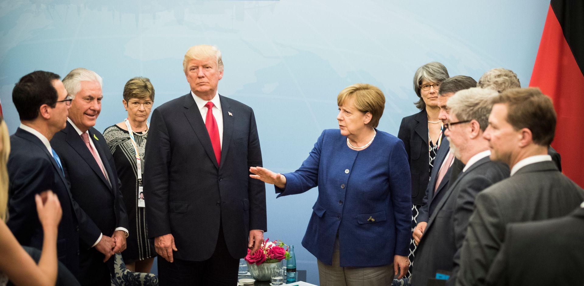 HAMBURG Otvoren summit, Merkel pozdravlja čelnike G20
