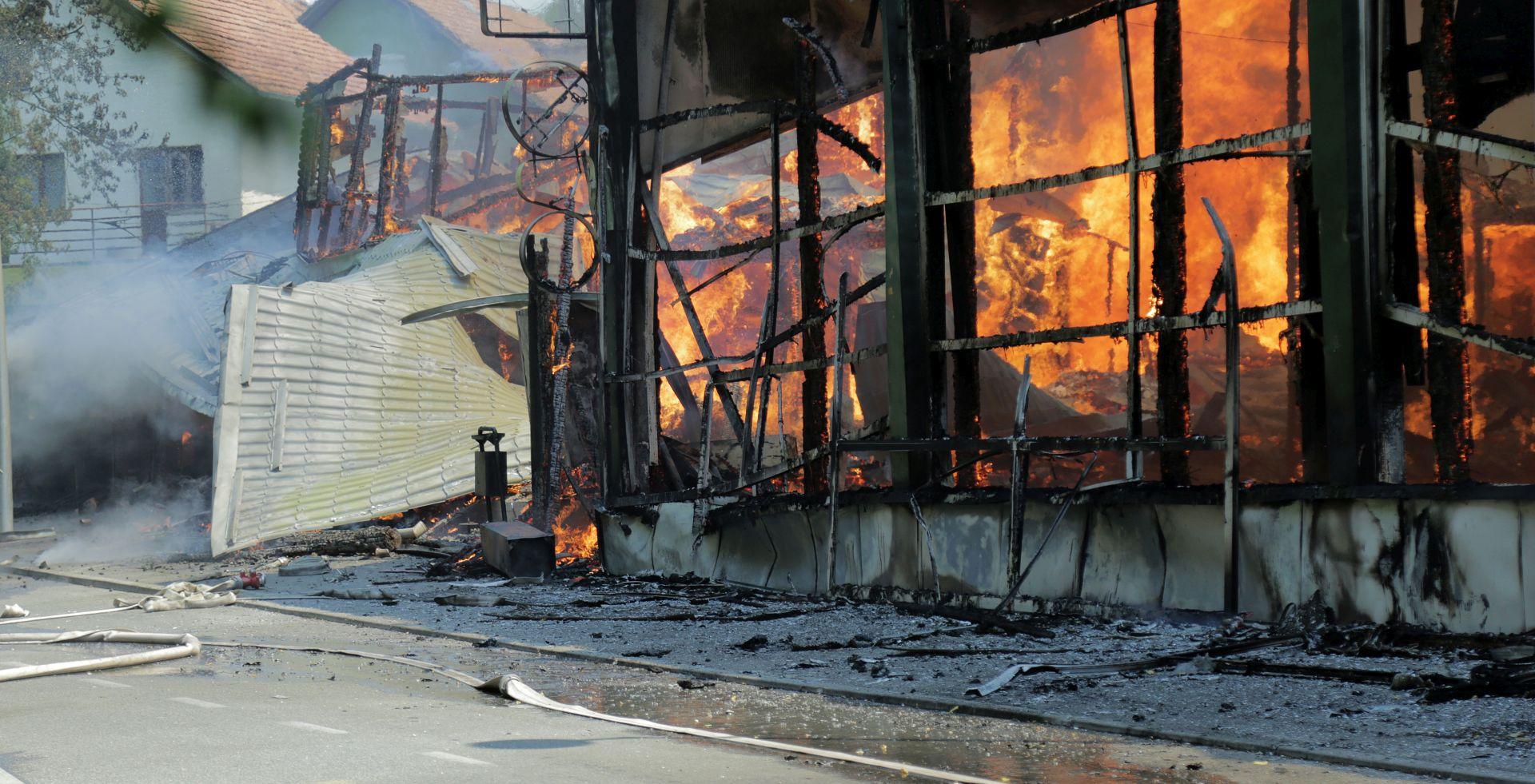 """PAVLE KALINIĆ """"Ozlijeđen je vatrogasni zapovjednik, nagutao se dima"""""""