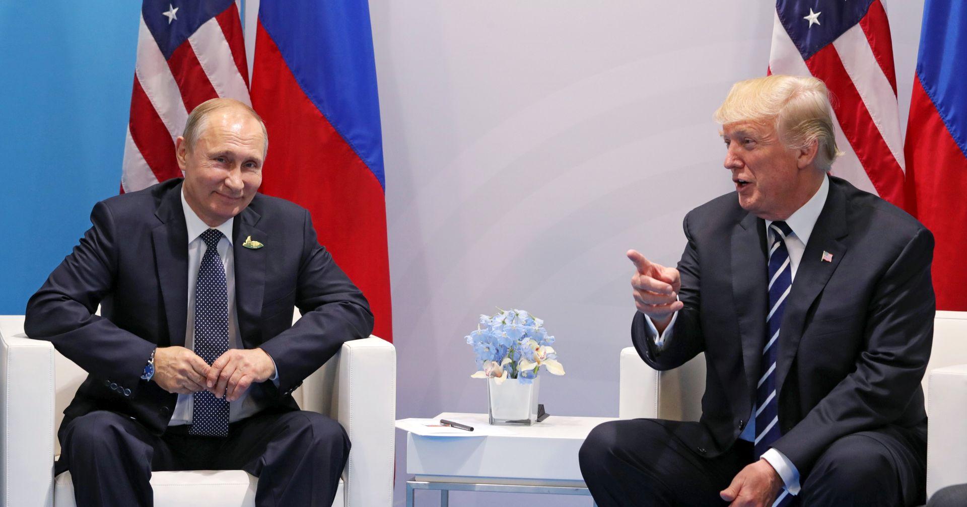 """TRUMP """"Vrijeme je za konstruktivan rad s Rusijom"""""""
