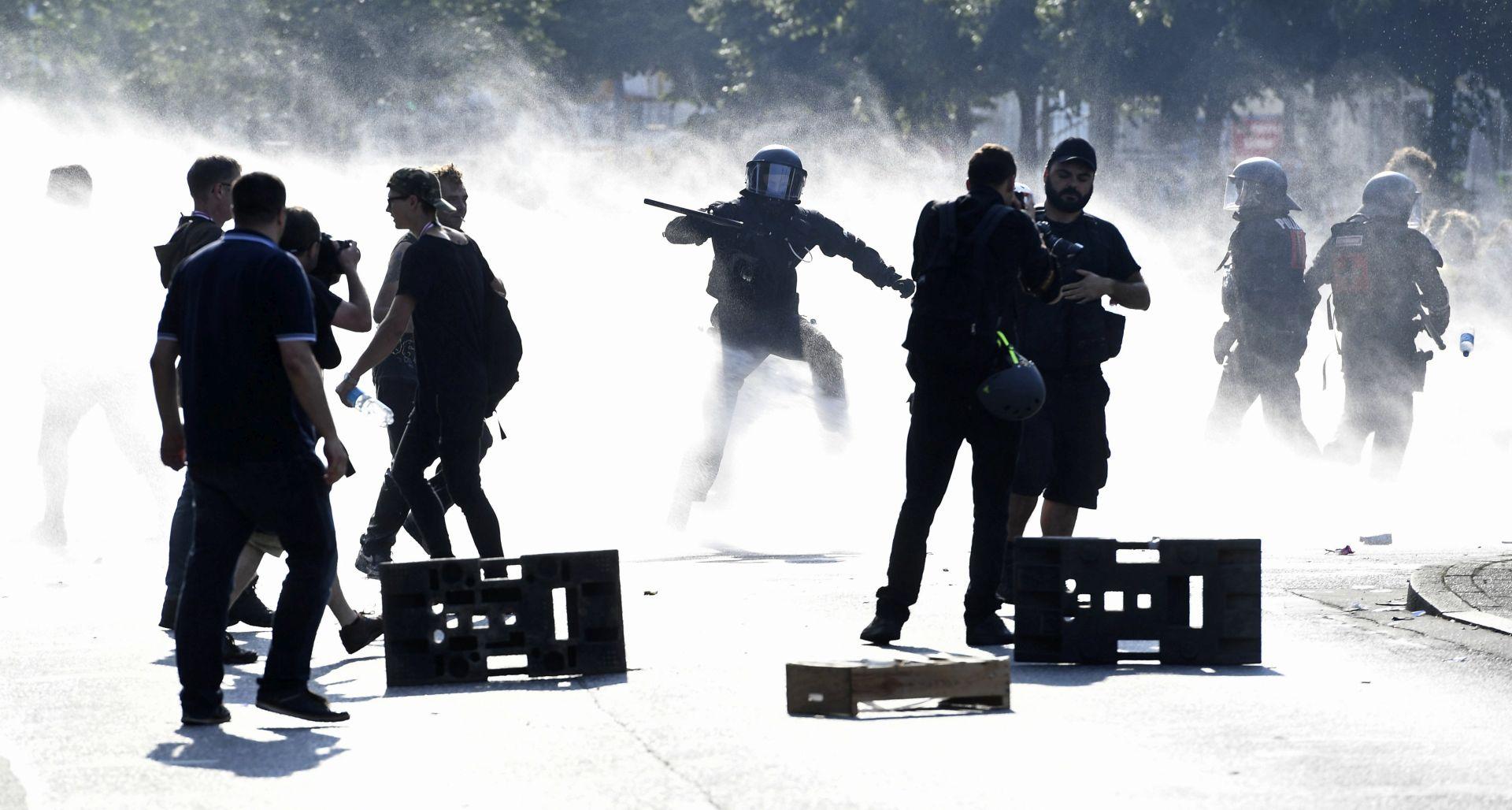 G20 Vođa prosvjeda ogradio se od nasilja u Hamburgu