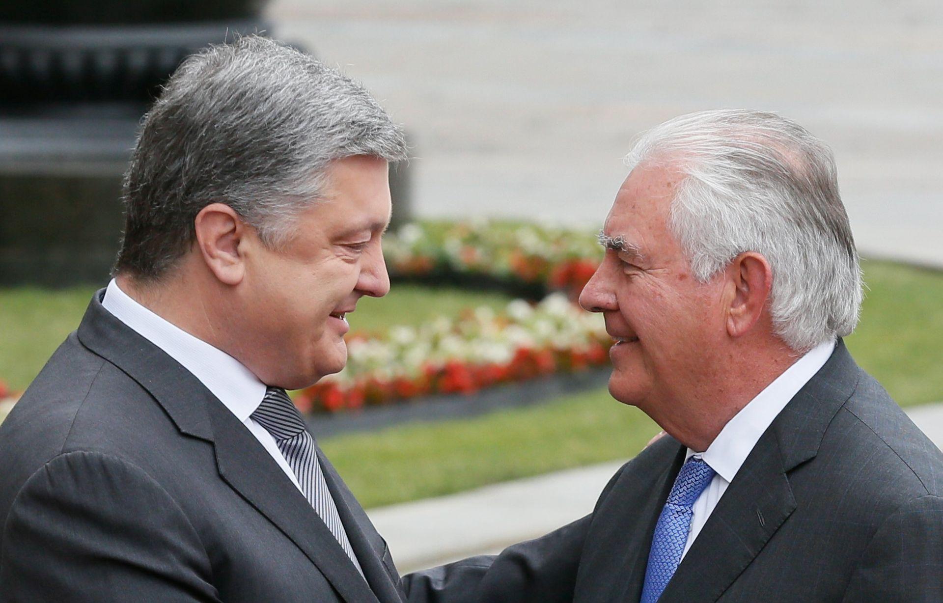 DEESKALACIJA U UKRAJINI Tillerson pozvao Moskvu da napravi prvi korak