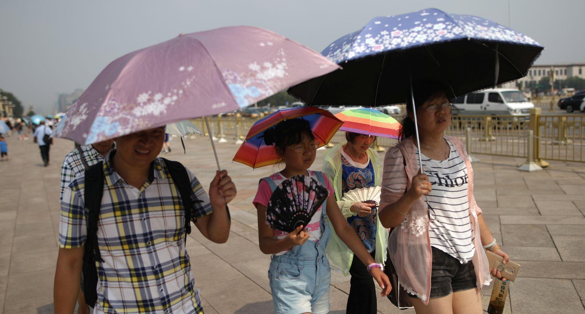 Izmjerena rekordna temperatura u Šangaju od 40,9 stupnjeva Celzijevih