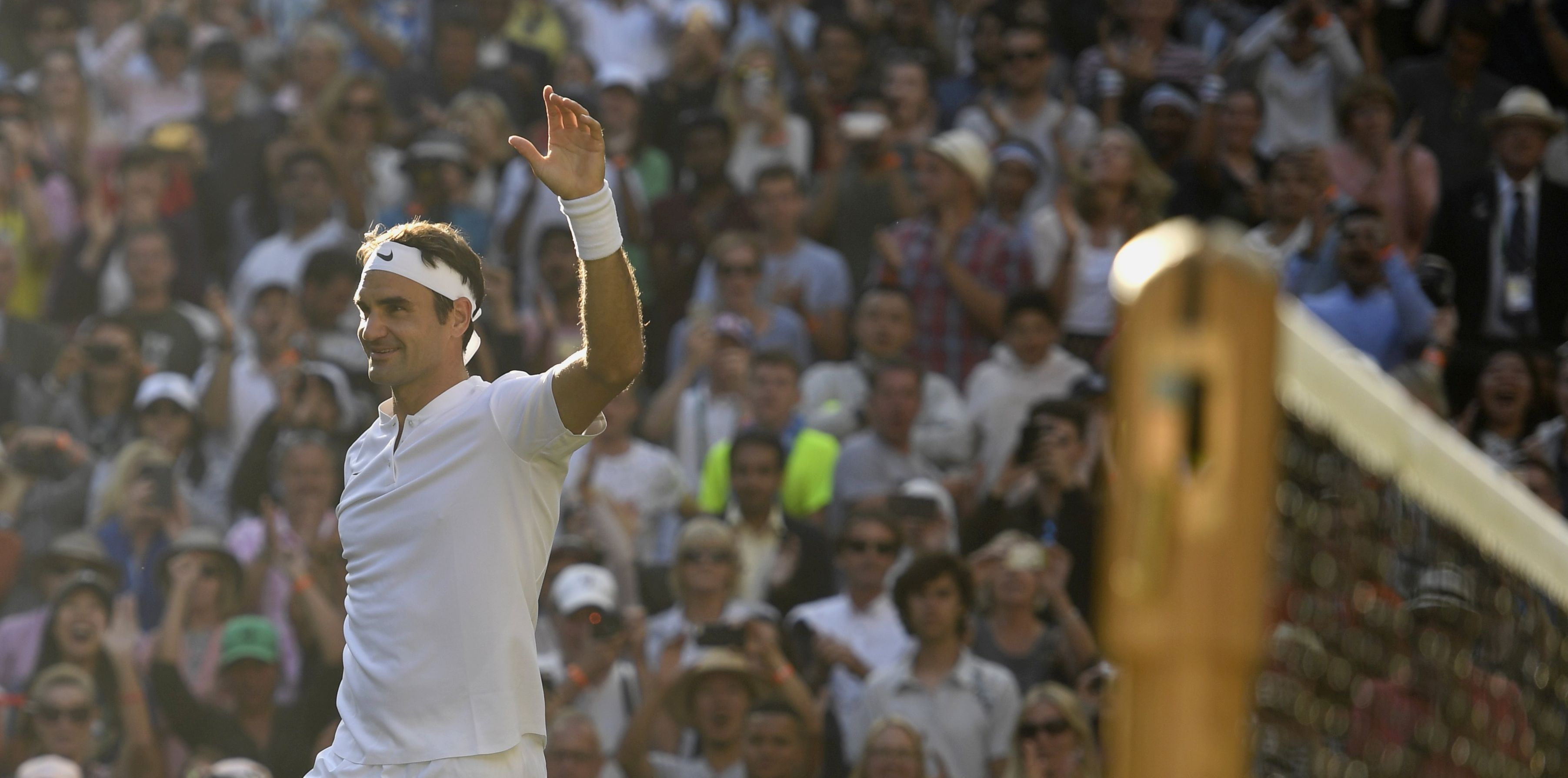WIMBLEDON Federer zborio svoje rekordno 12. polufinale u Londonu