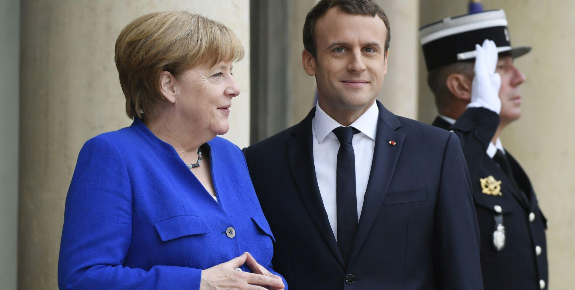Merkel i Macron: Nema alternative mirnom rješenju krize na istoku Ukrajine