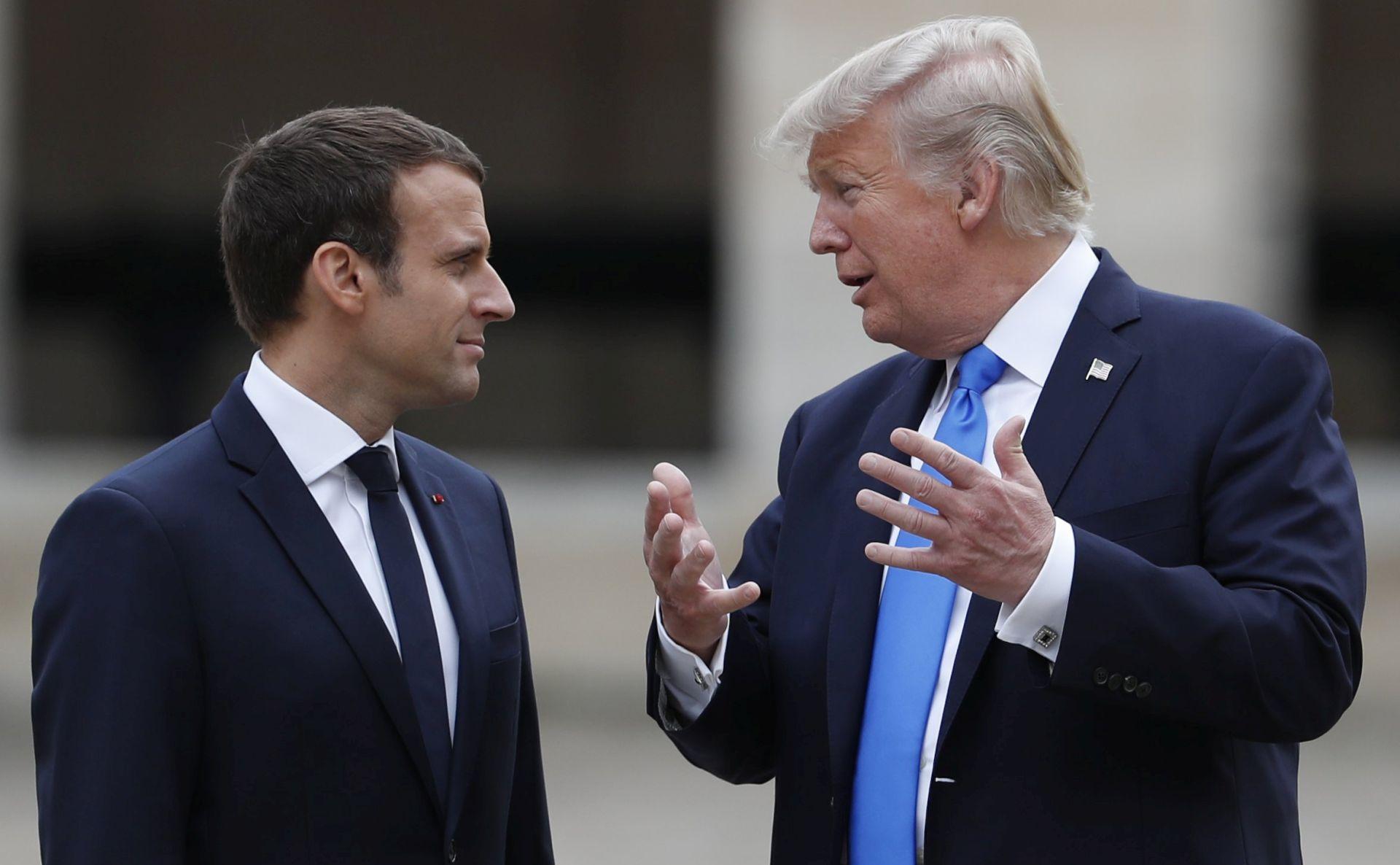 Iran i trgovina u fokusu Macronova posjeta Trumpu