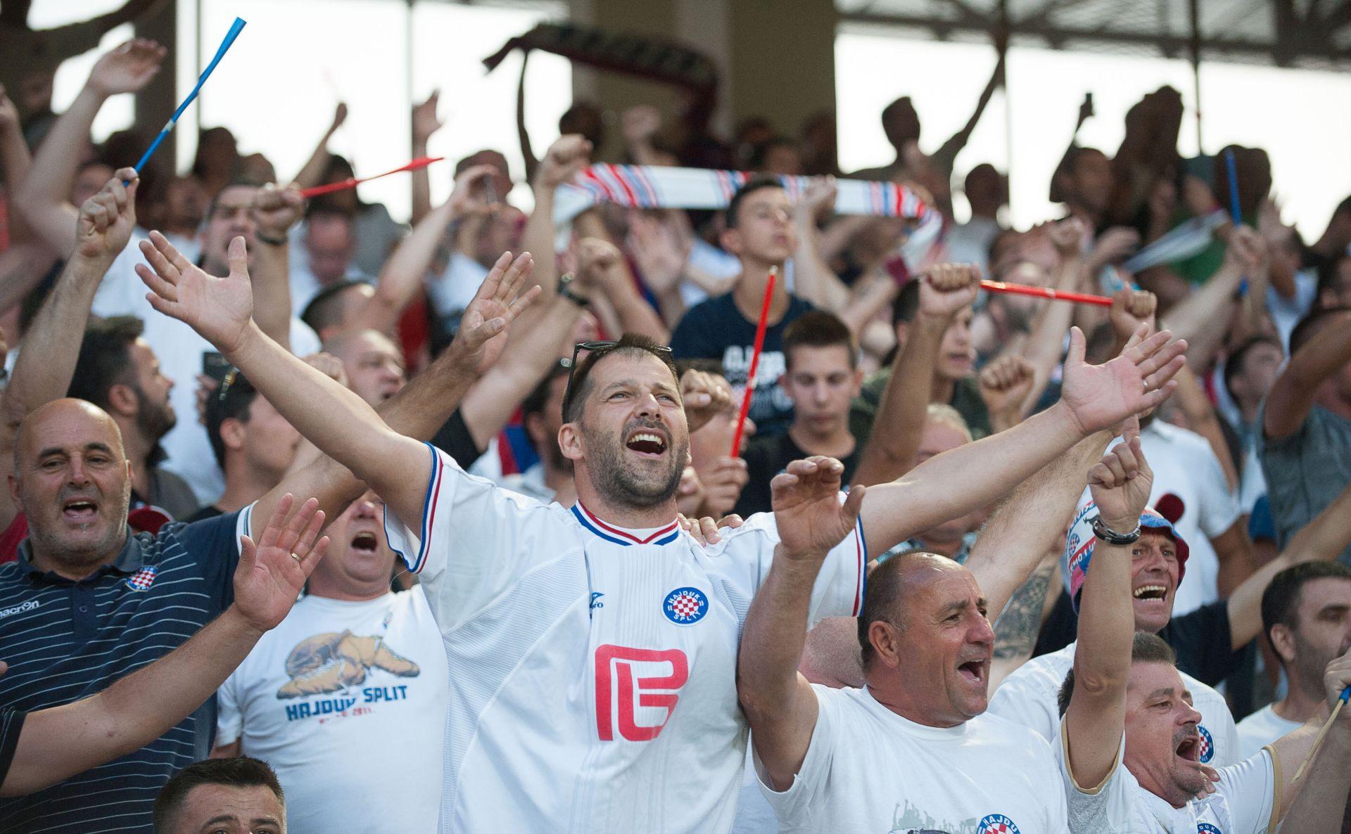 SPLIT Bez navijačkih incidenata na utakmici Hajduk-Levski