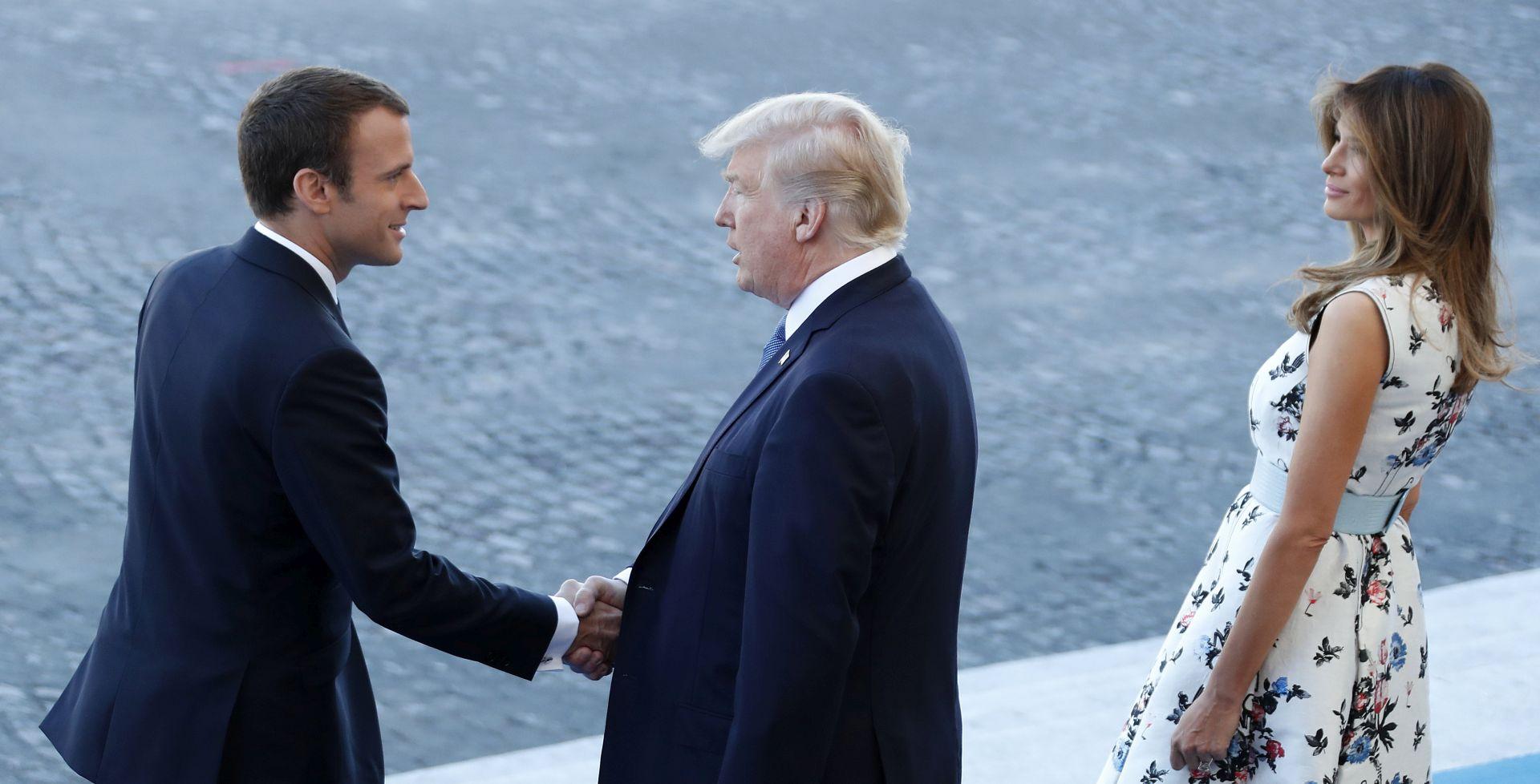 """Trump želi vojnu paradu za nacionalni praznik poput pariške, ali """"još bolju"""""""