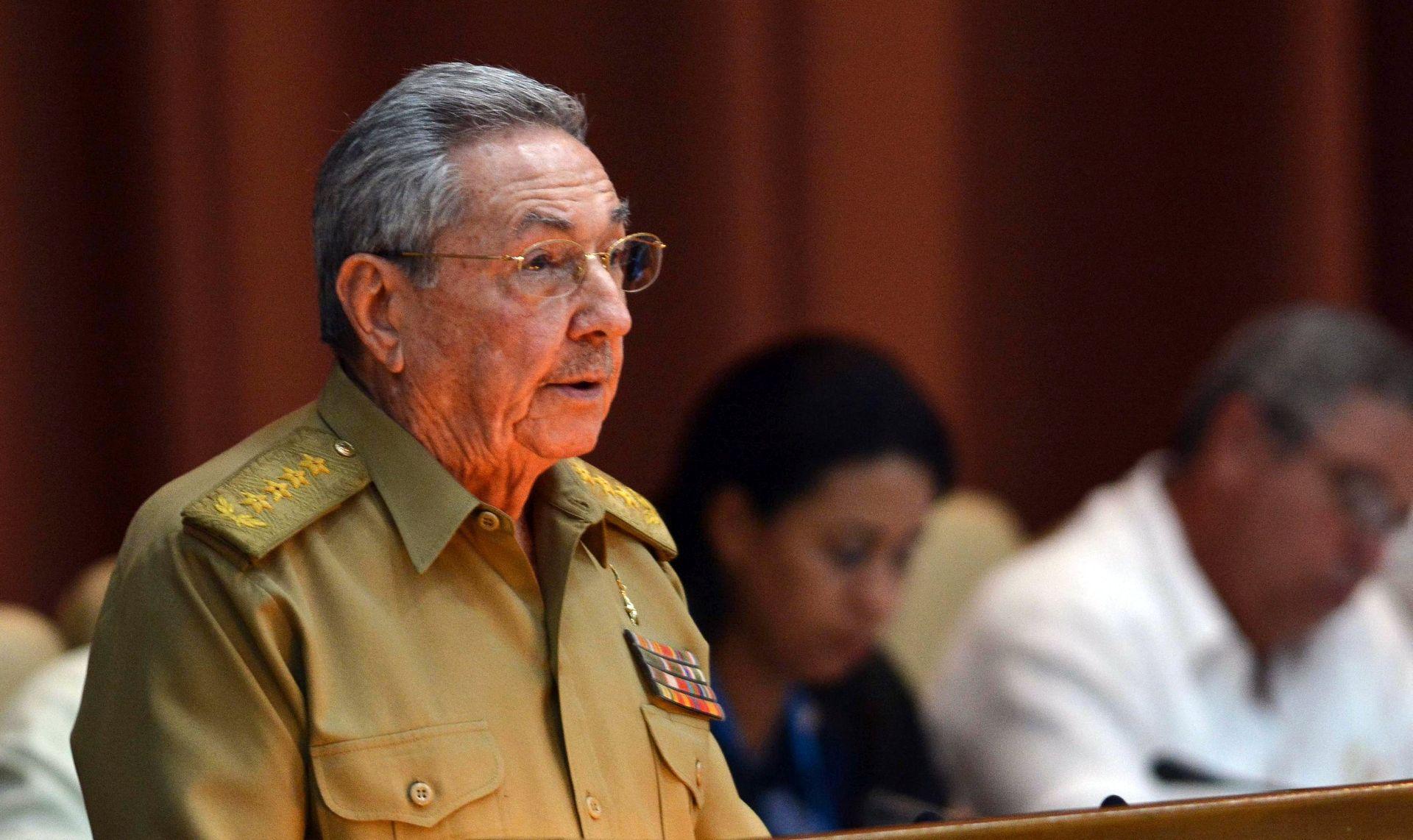 Raul Castro kritizirao Trumpovu politiku prema Kubi
