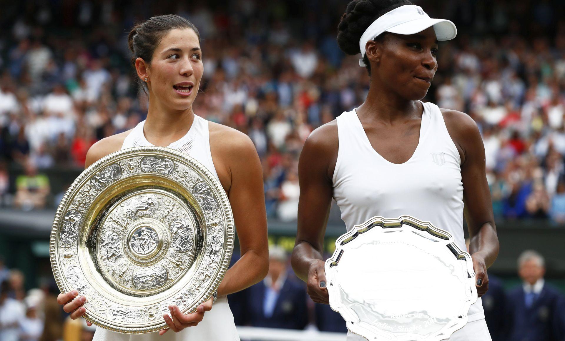 Muguruza osvojila Wimbledon