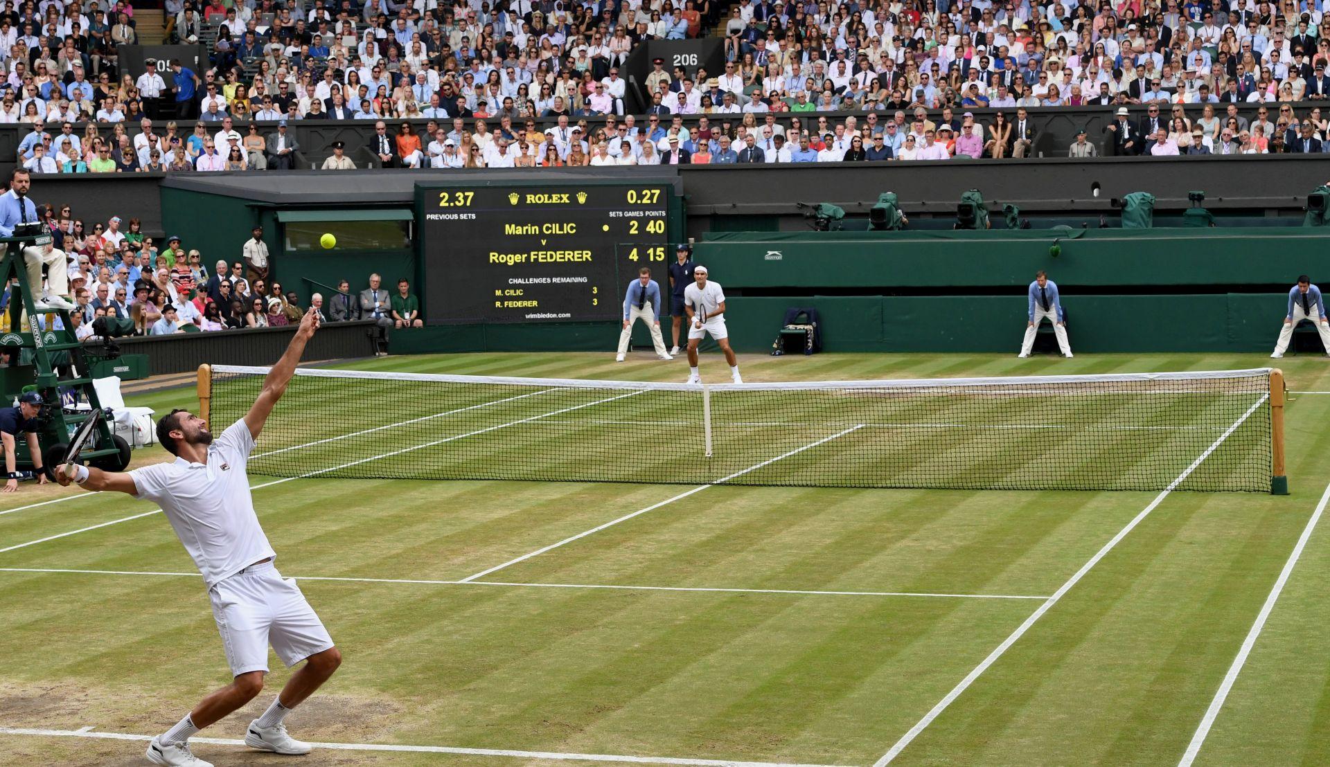 Izaslanstvo putovalo na finale Wimbledona državnim zrakoplovom, karte osigurao organizator