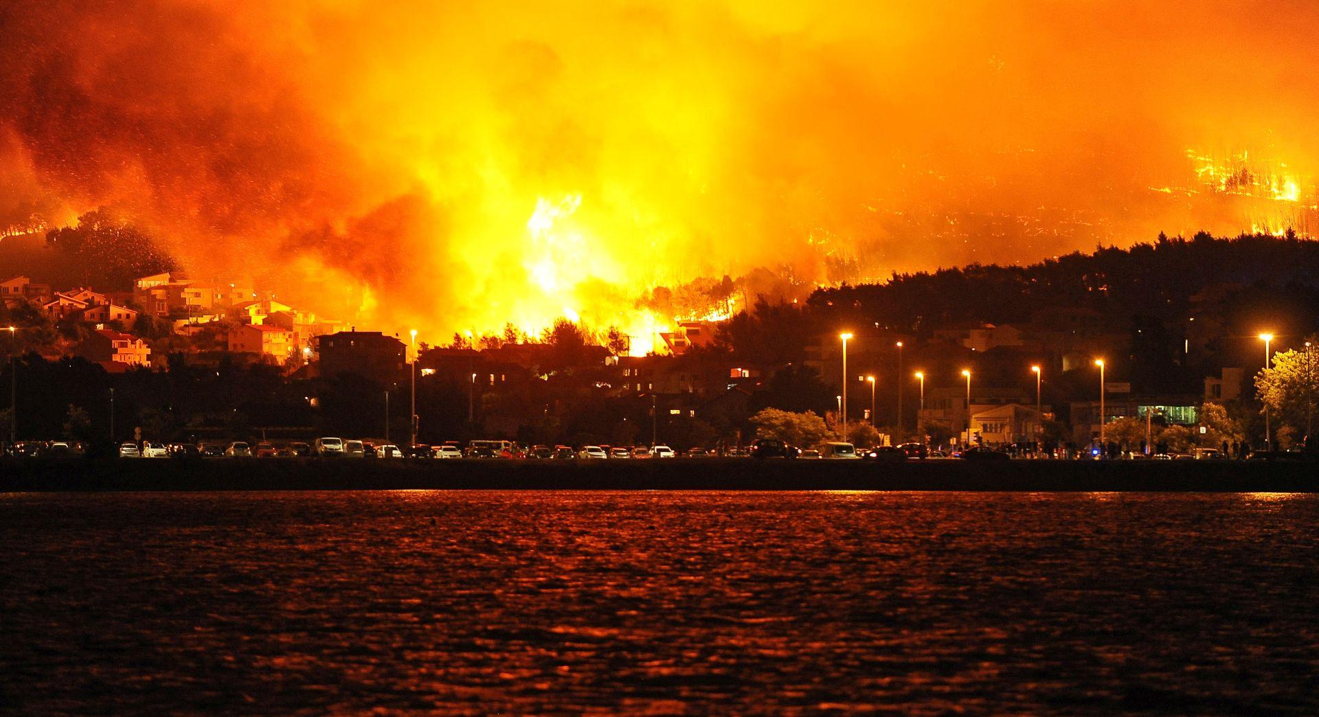 Inicijativa 'Split gori' traži javnu objavu svih informacija o požaru