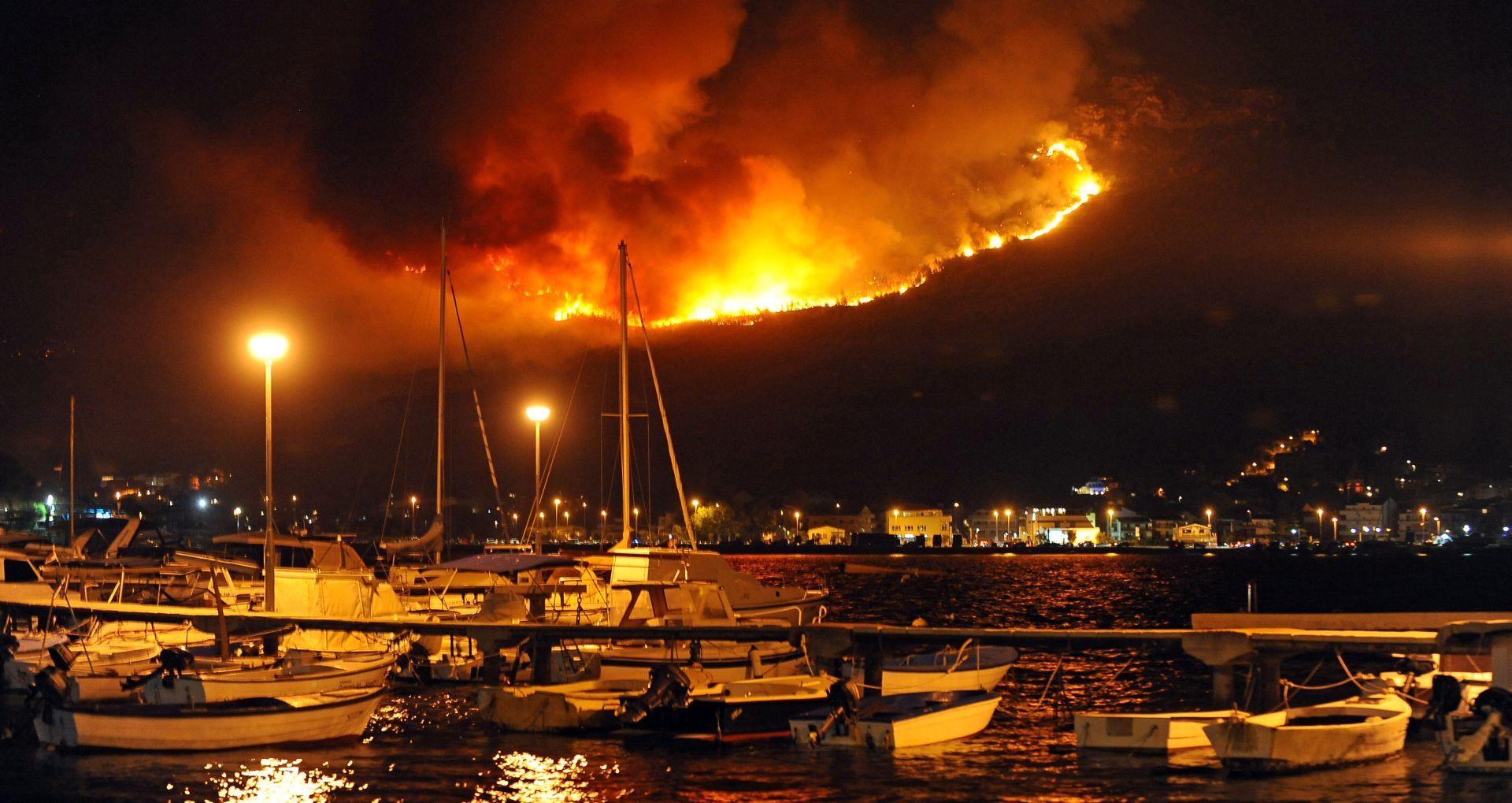 SPLIT Poziv građanima da što prije prijave štetu od požara