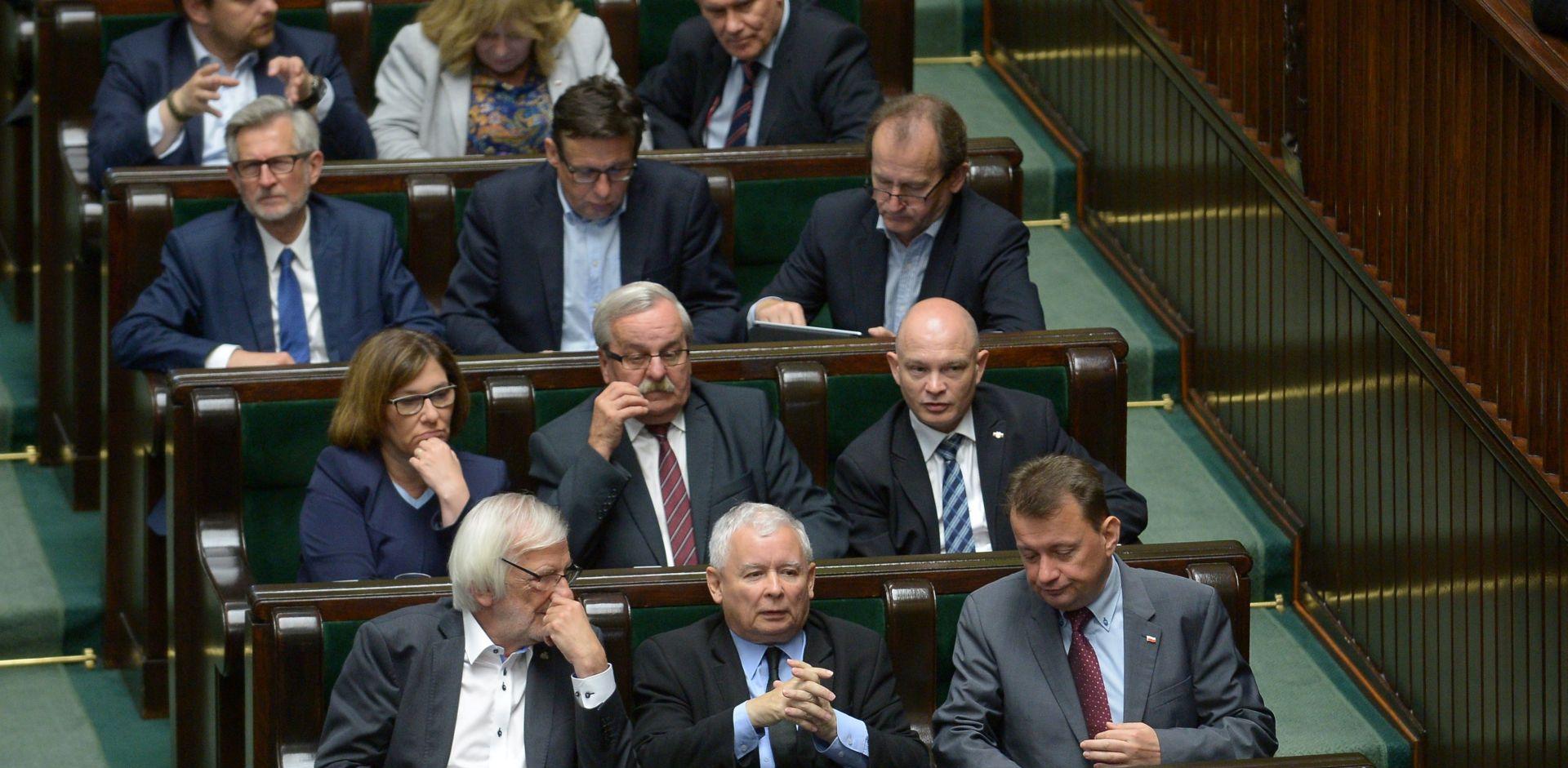 Kaczynski izazvao incident u poljskom parlamentu