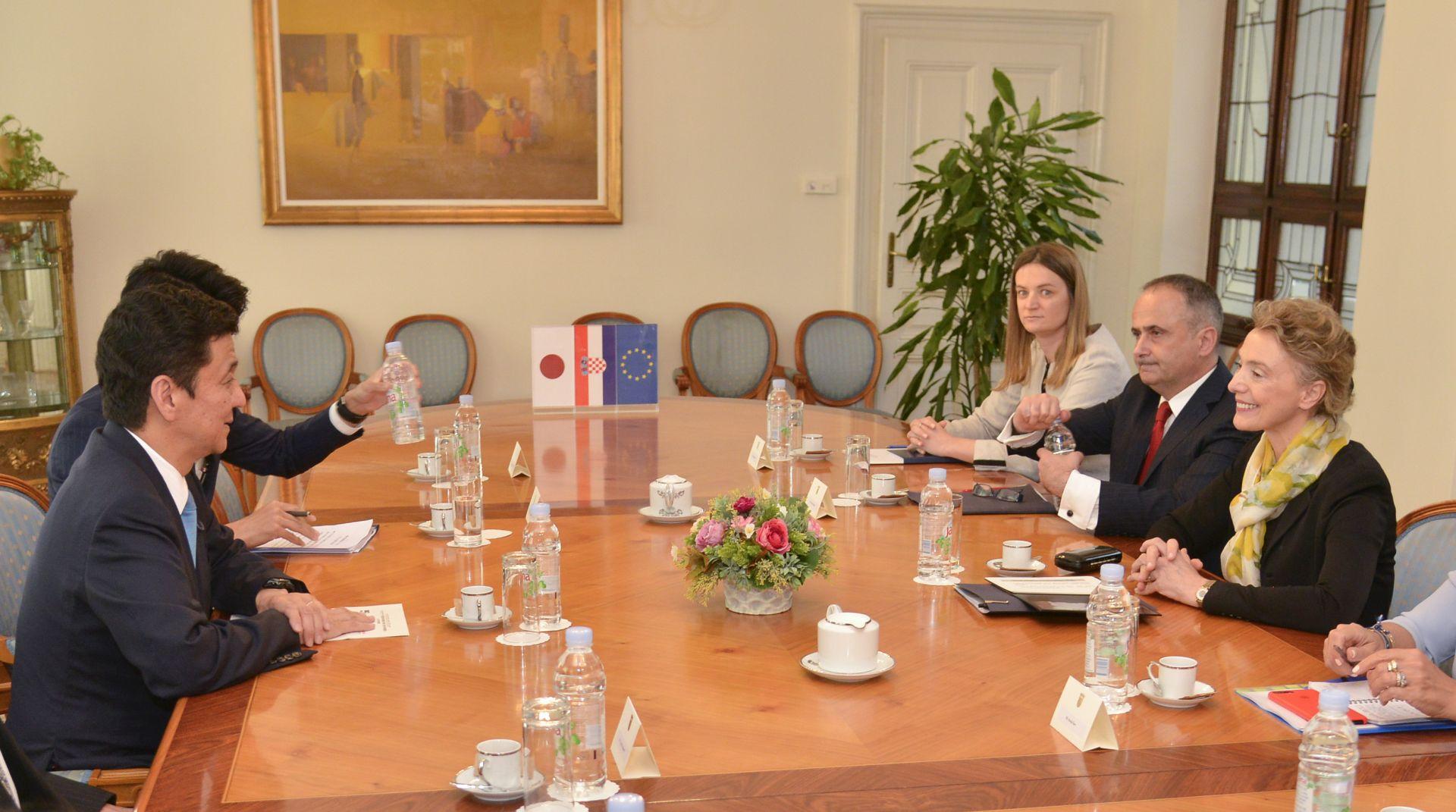 Pejčinović Burić sastala se s Kishijem