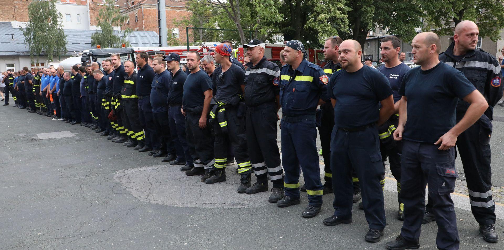 Sindikat podržava izmjene Zakona o vatrogastvu, ali regres treba isplatiti prema kolektivnom ugovoru
