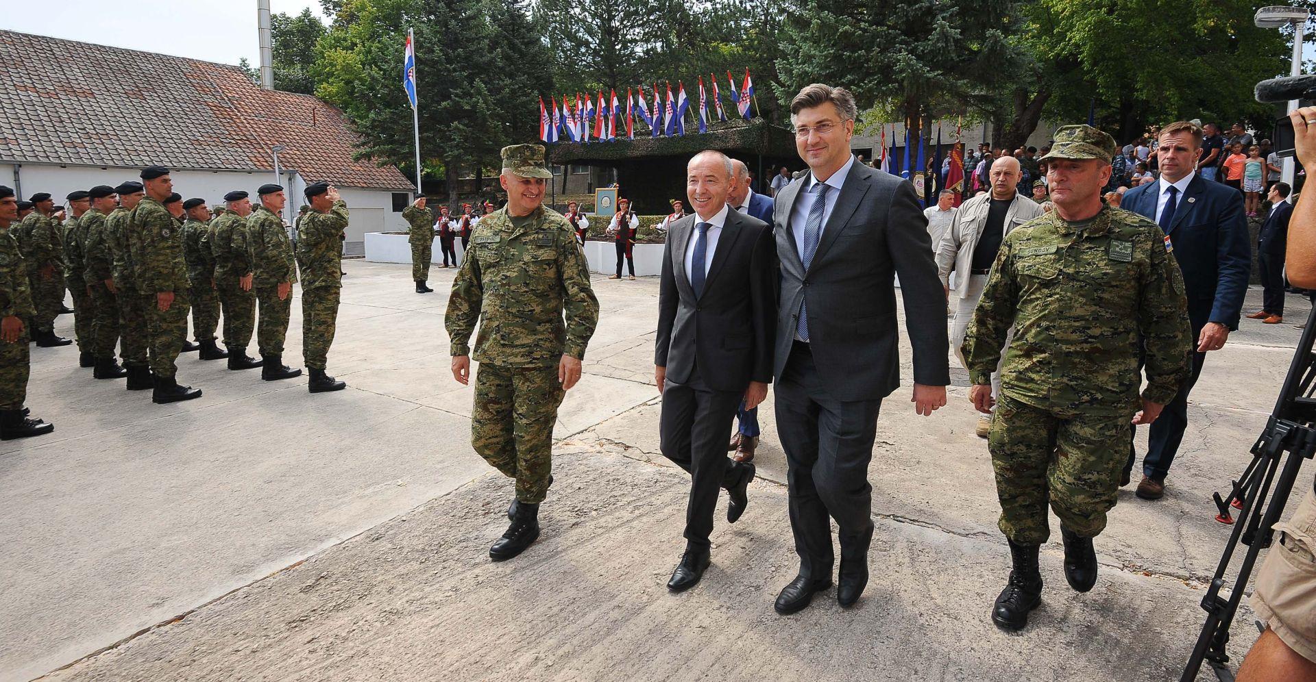 POTPREDSJEDNIK VLADE KRSTIČEVIĆ: Imamo nove ugroze, rizike s kojima se suočavasvako moderno društvo, pa tako i hrvatsko