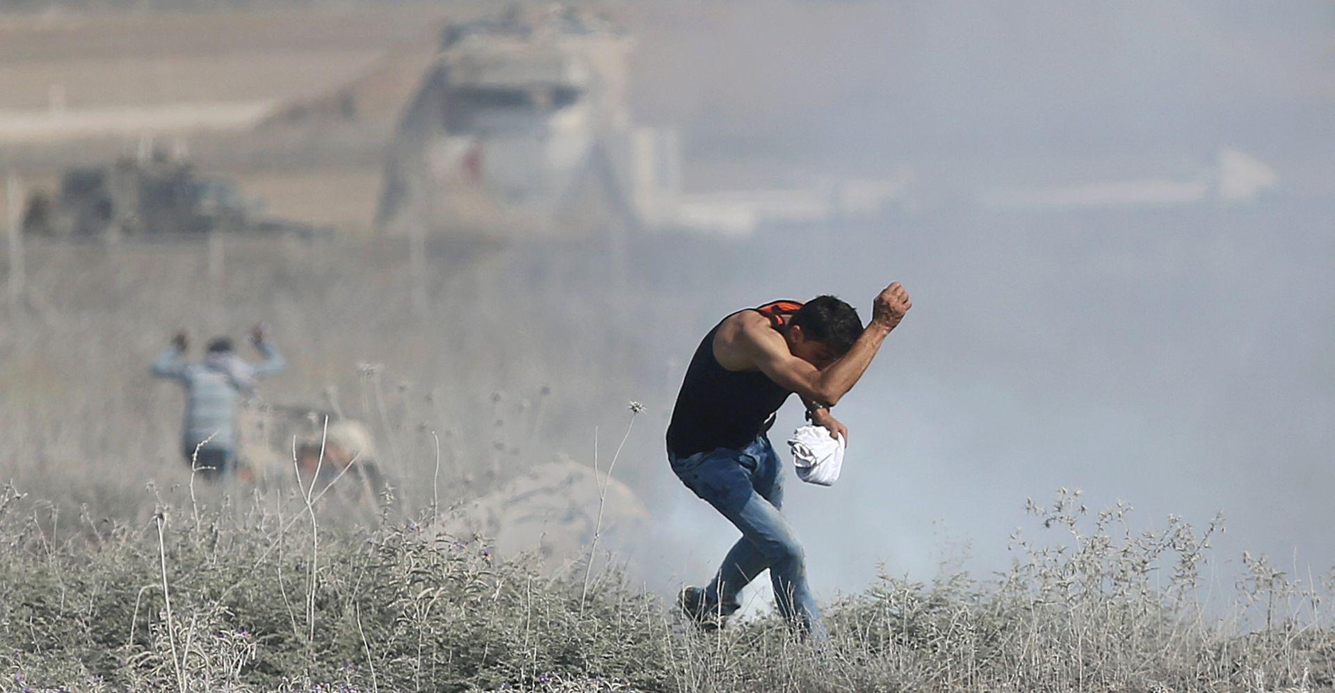 Dvojica Palestinca žrtve izraelske paljbe u Gazi