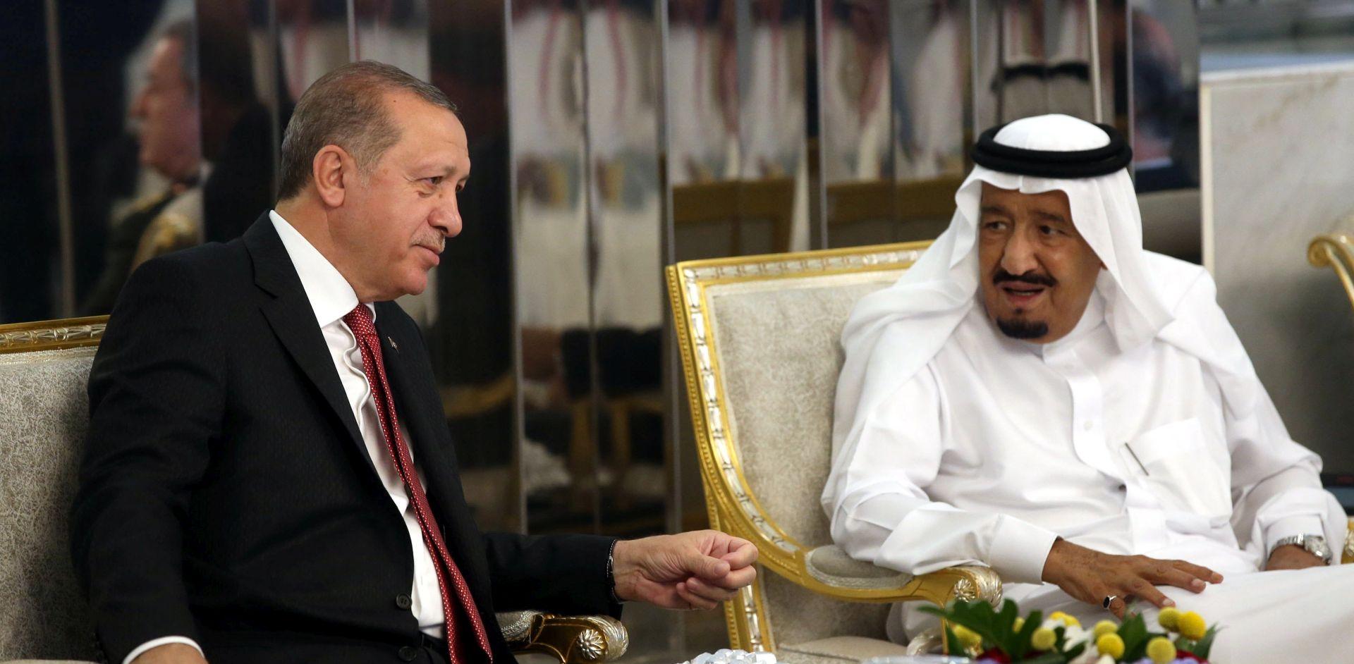 Erdogan u Saudijskoj Arabiji počeo turneju po zemljama Zaljeva