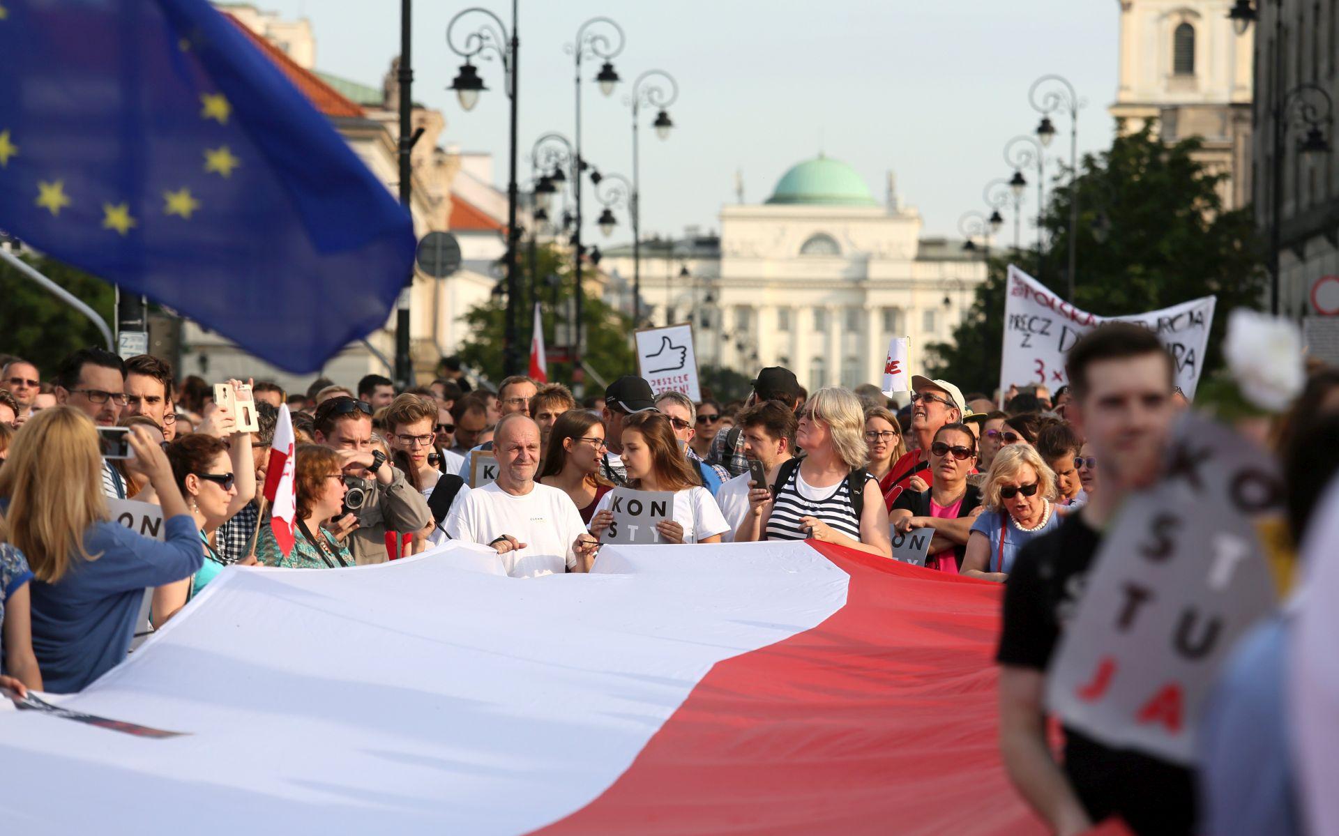 EU pokreće pravne mjere protiv Poljske zbog pravosudne reforme