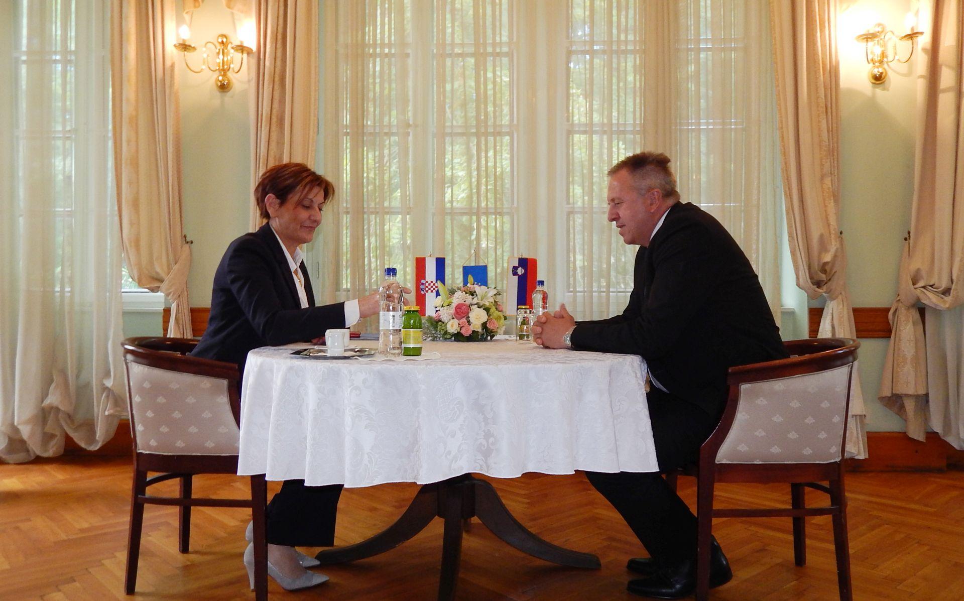 Dalić i Počivalšek zadovoljni gospodarskom suradnjom