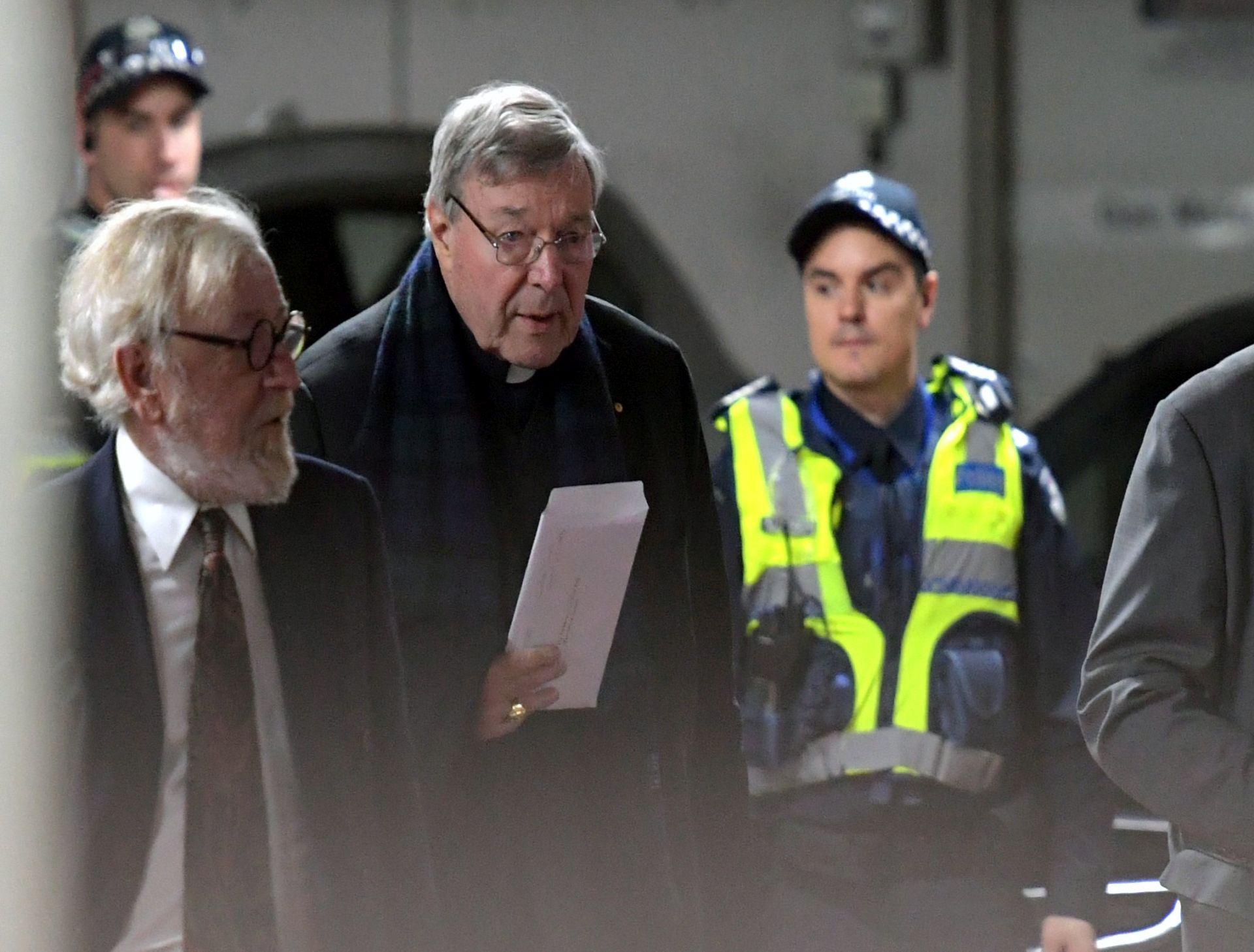 Kardinal Pell pojavio se pred sudom u Victoriji